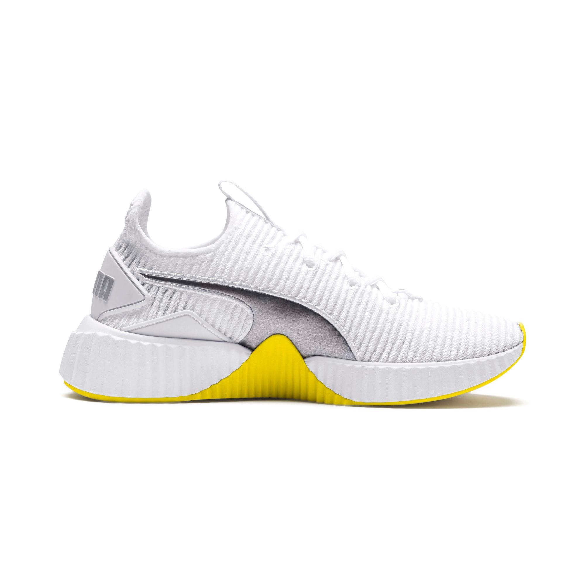 Thumbnail 6 of Defy Trailblazer Women's Training Shoes, Puma White-Blazing Yellow, medium