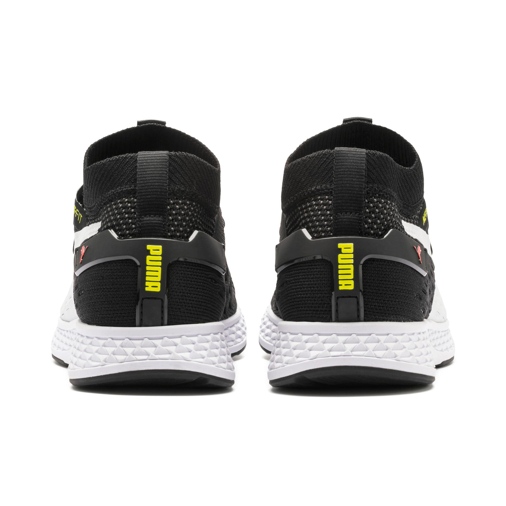 Thumbnail 5 of SPEED 500 Men's Running Shoes, Black-White-Red-Yellow, medium