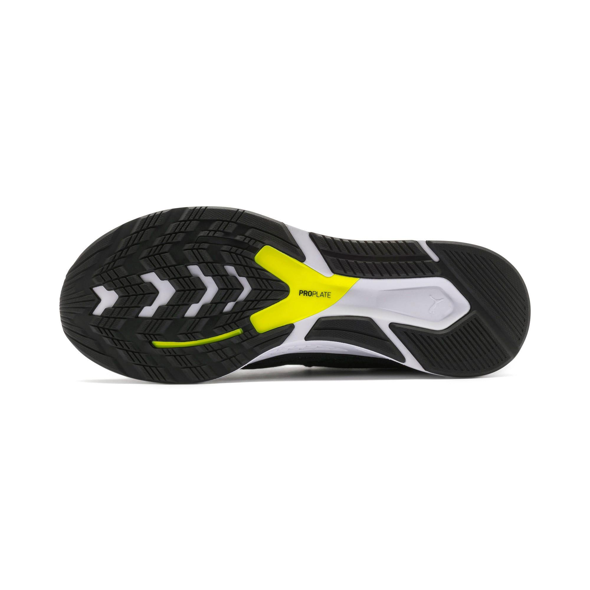 Thumbnail 4 of SPEED 500 Men's Running Shoes, Black-White-Red-Yellow, medium