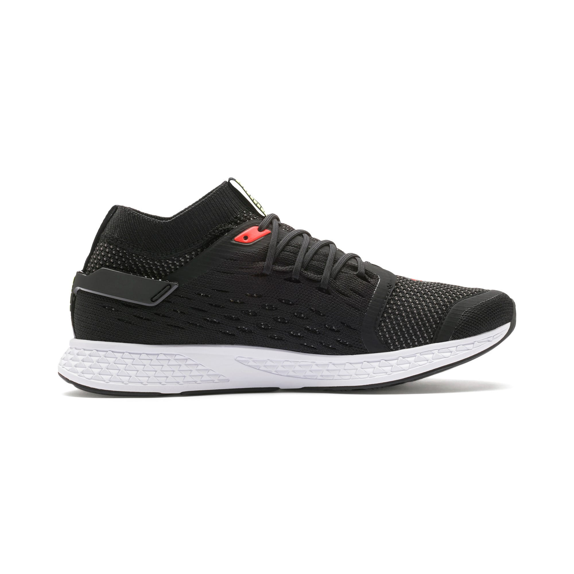 Thumbnail 6 of SPEED 500 Men's Running Shoes, Black-White-Red-Yellow, medium