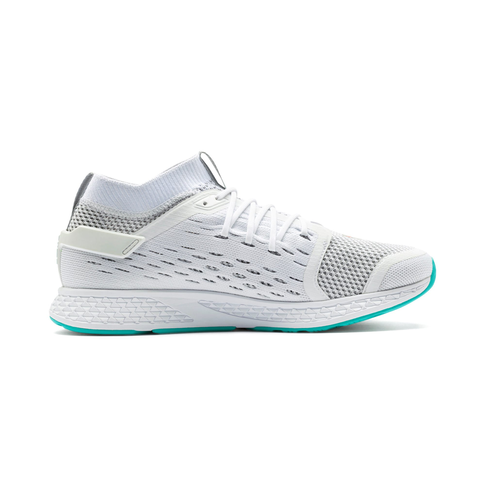 Thumbnail 6 of SPEED 500 Men's Running Shoes, White-Turquoise-Nrgy Red, medium