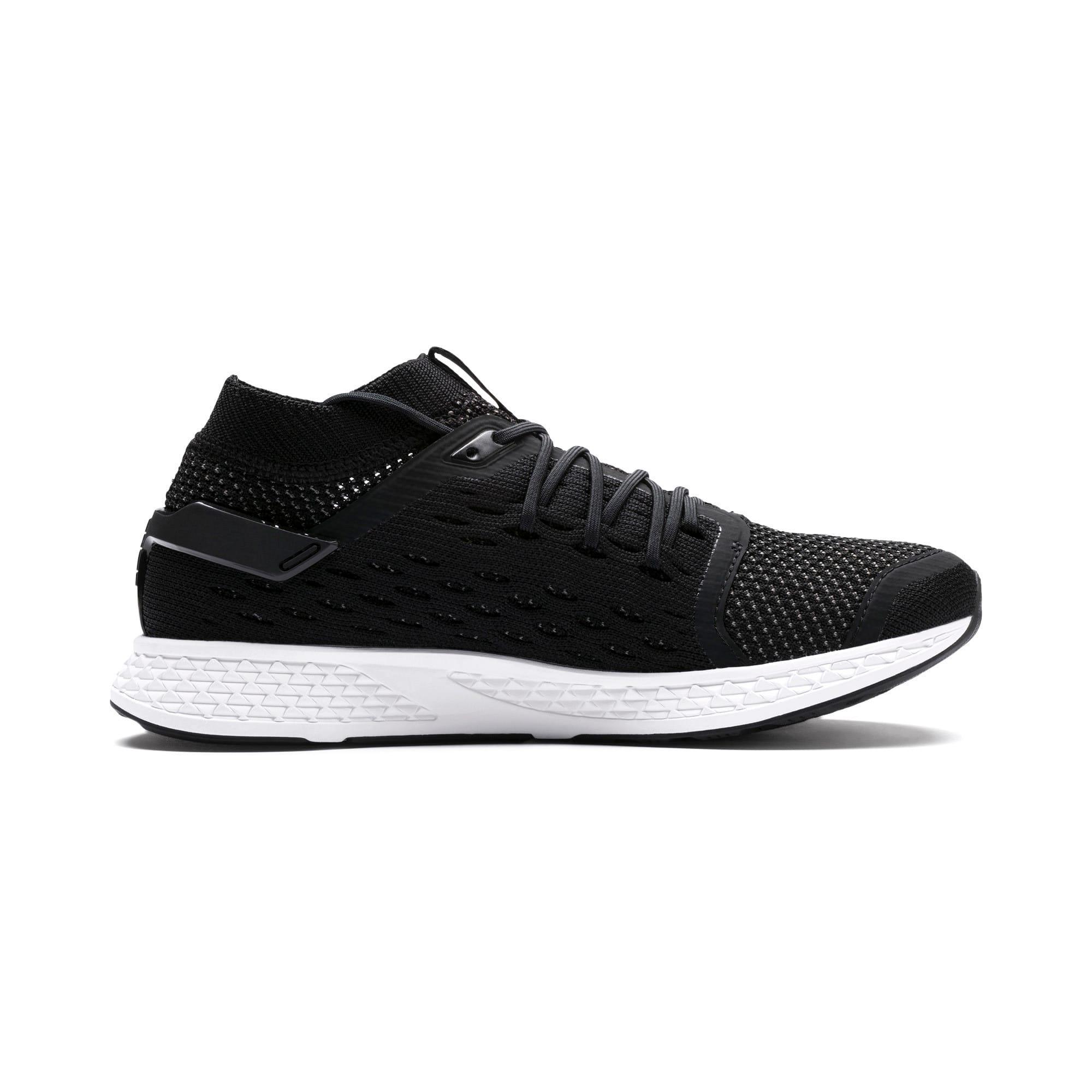 Thumbnail 6 of SPEED 500 Women's Running Shoes, Puma Black-Puma White, medium