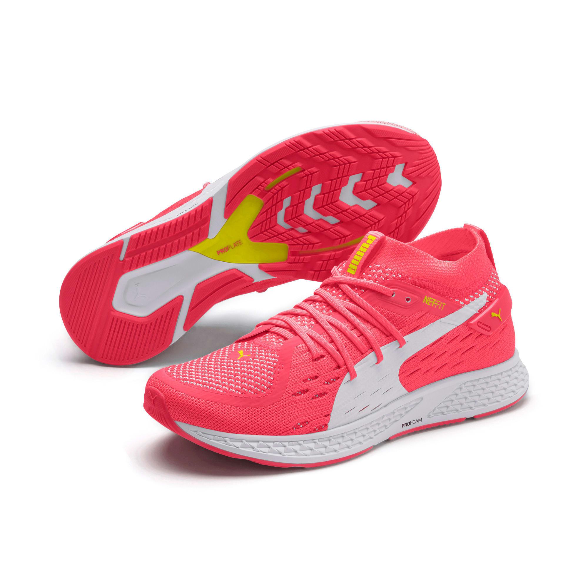 Miniatura 2 de Zapatos para correrSPEED500 para mujer, Pink Alert-White-Yellow, mediano