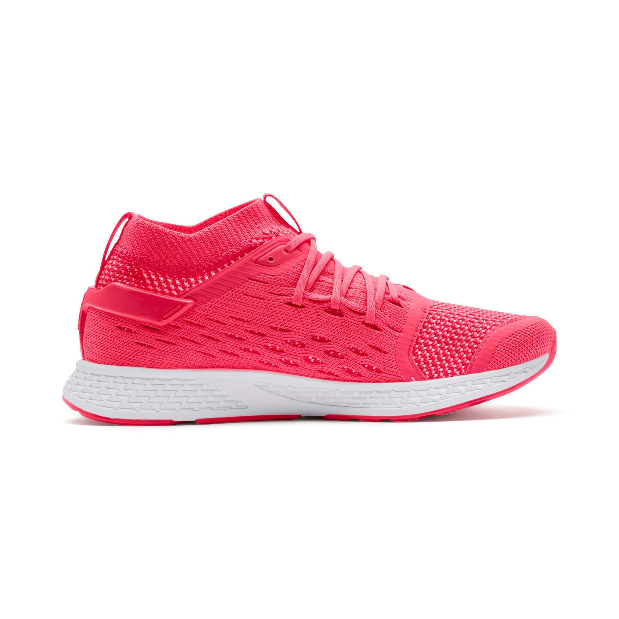 Miniatura 6 de Zapatos para correrSPEED500 para mujer, Pink Alert-White-Yellow, mediano