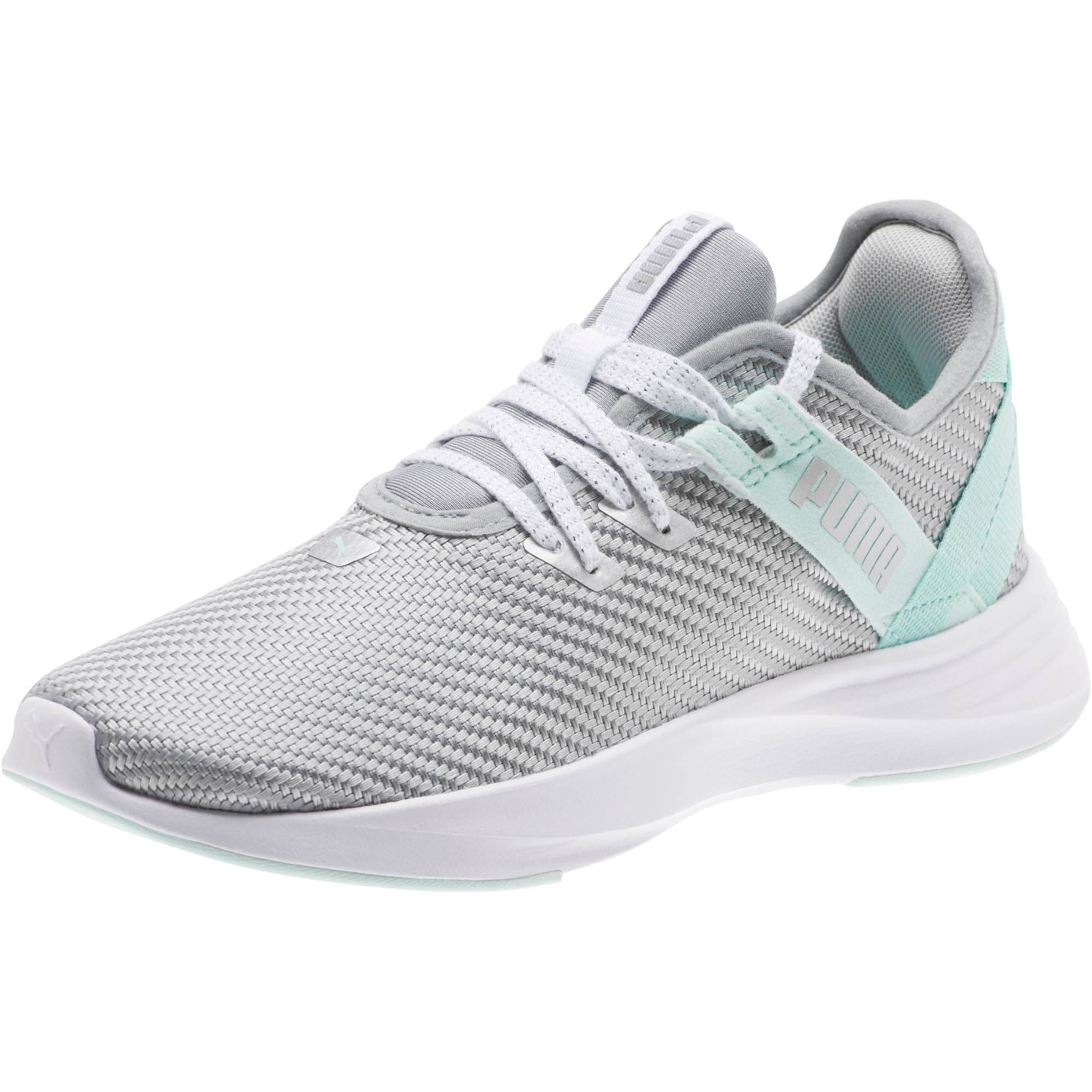 Thumbnail 1 of Radiate XT Cosmic Women's Training Shoes, Puma Silver-Fair Aqua, medium