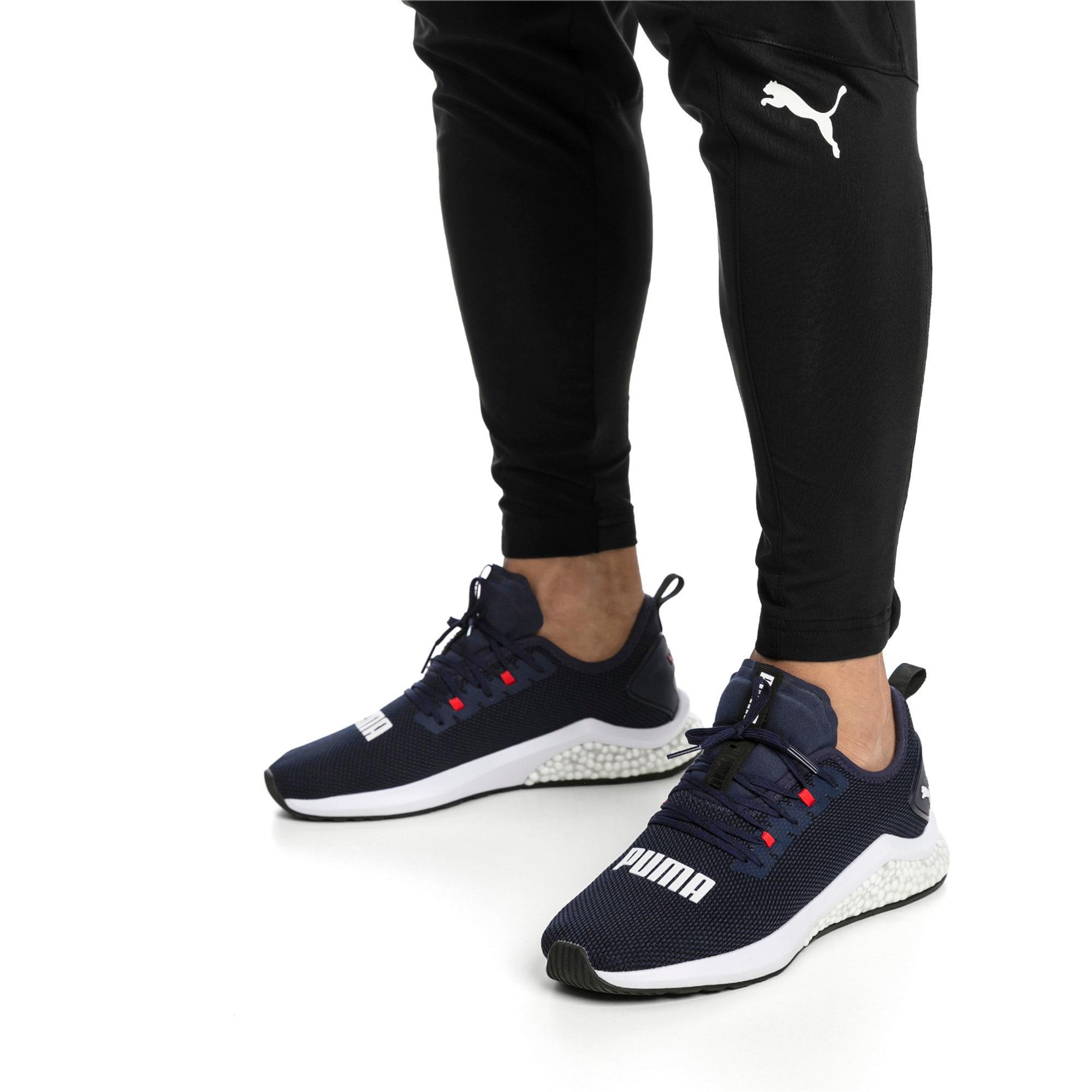 Thumbnail 2 of HYBRID NX Men's Running Shoes, Peacoat-High Risk Red-White, medium