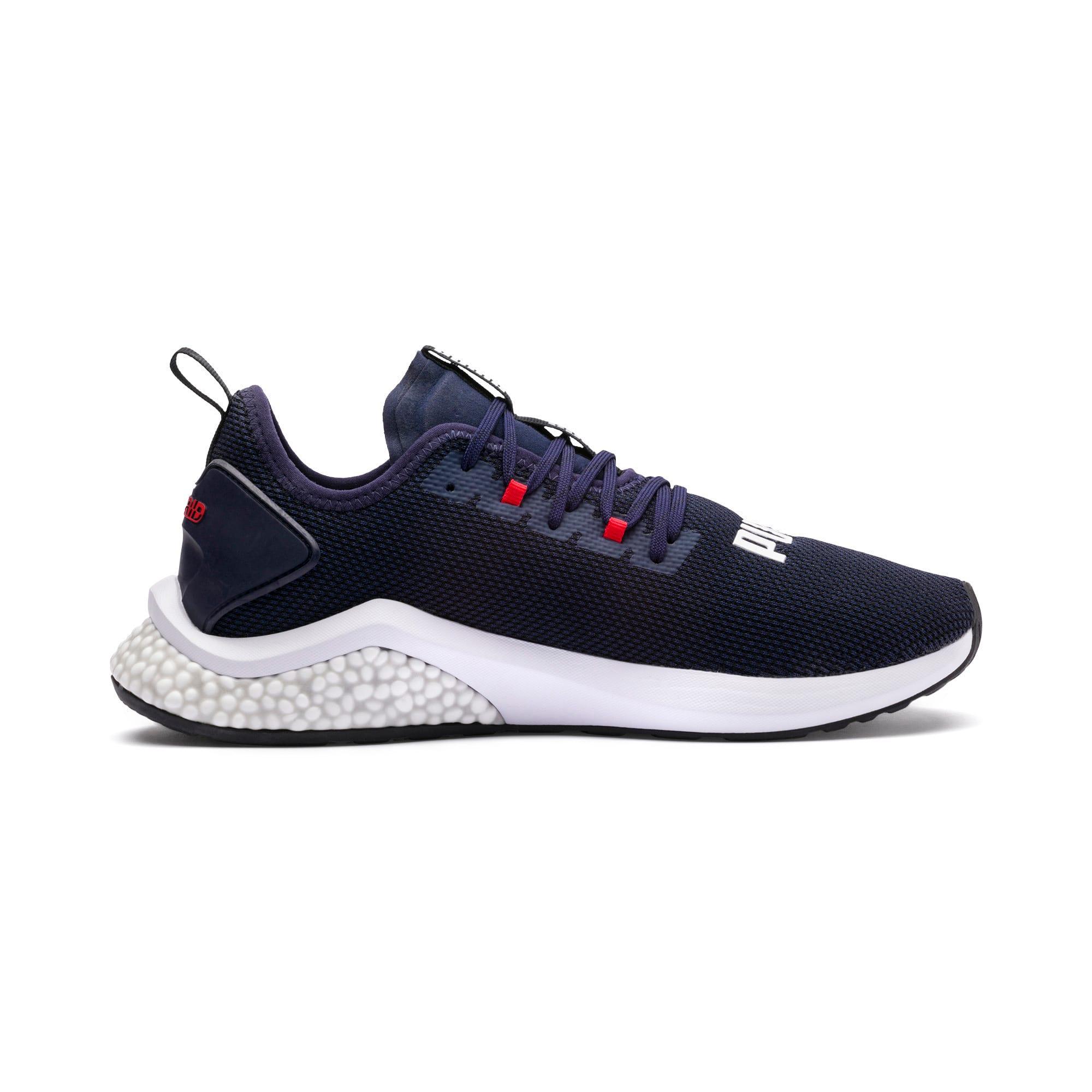 Thumbnail 6 of HYBRID NX Men's Running Shoes, Peacoat-High Risk Red-White, medium