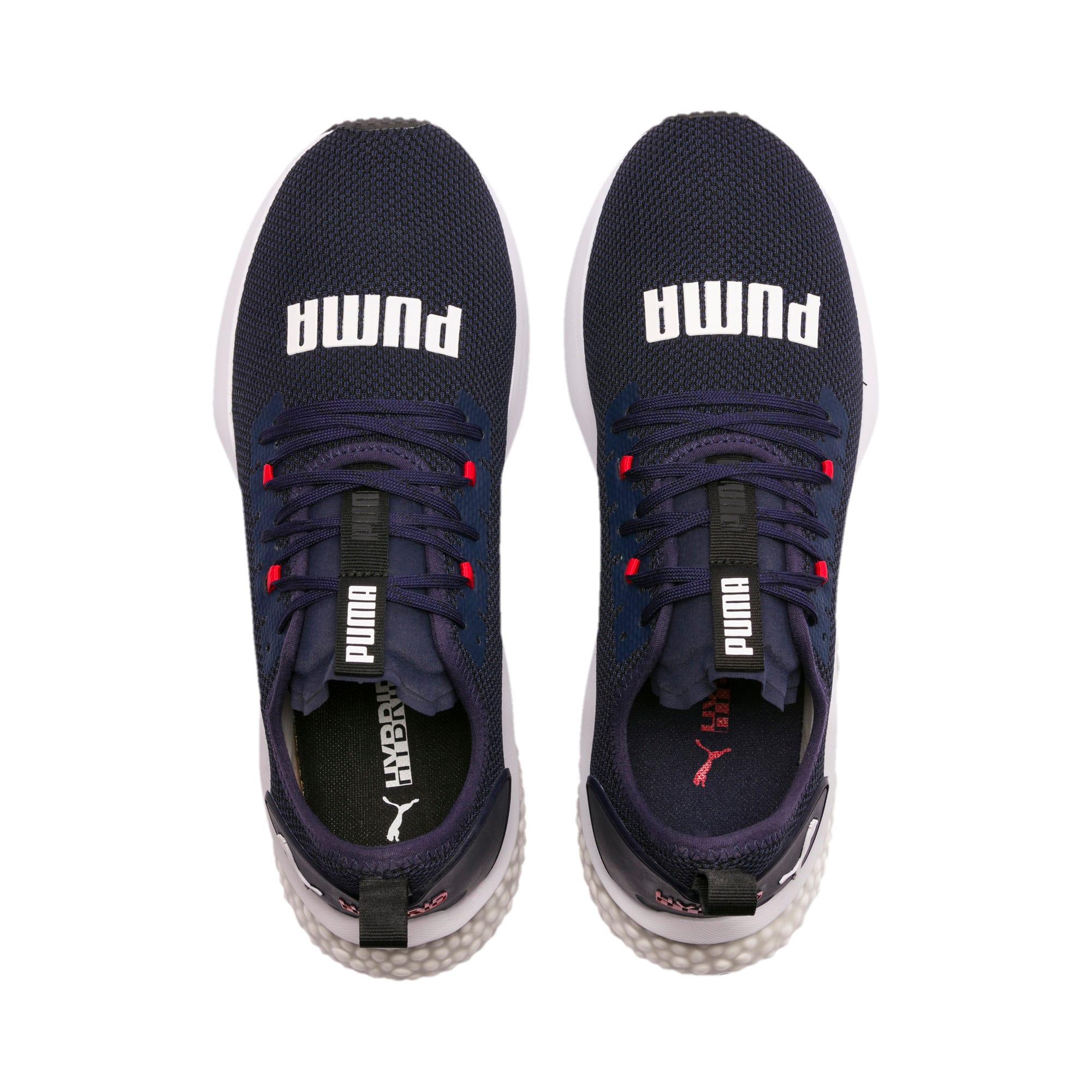 Thumbnail 7 of HYBRID NX Men's Running Shoes, Peacoat-High Risk Red-White, medium