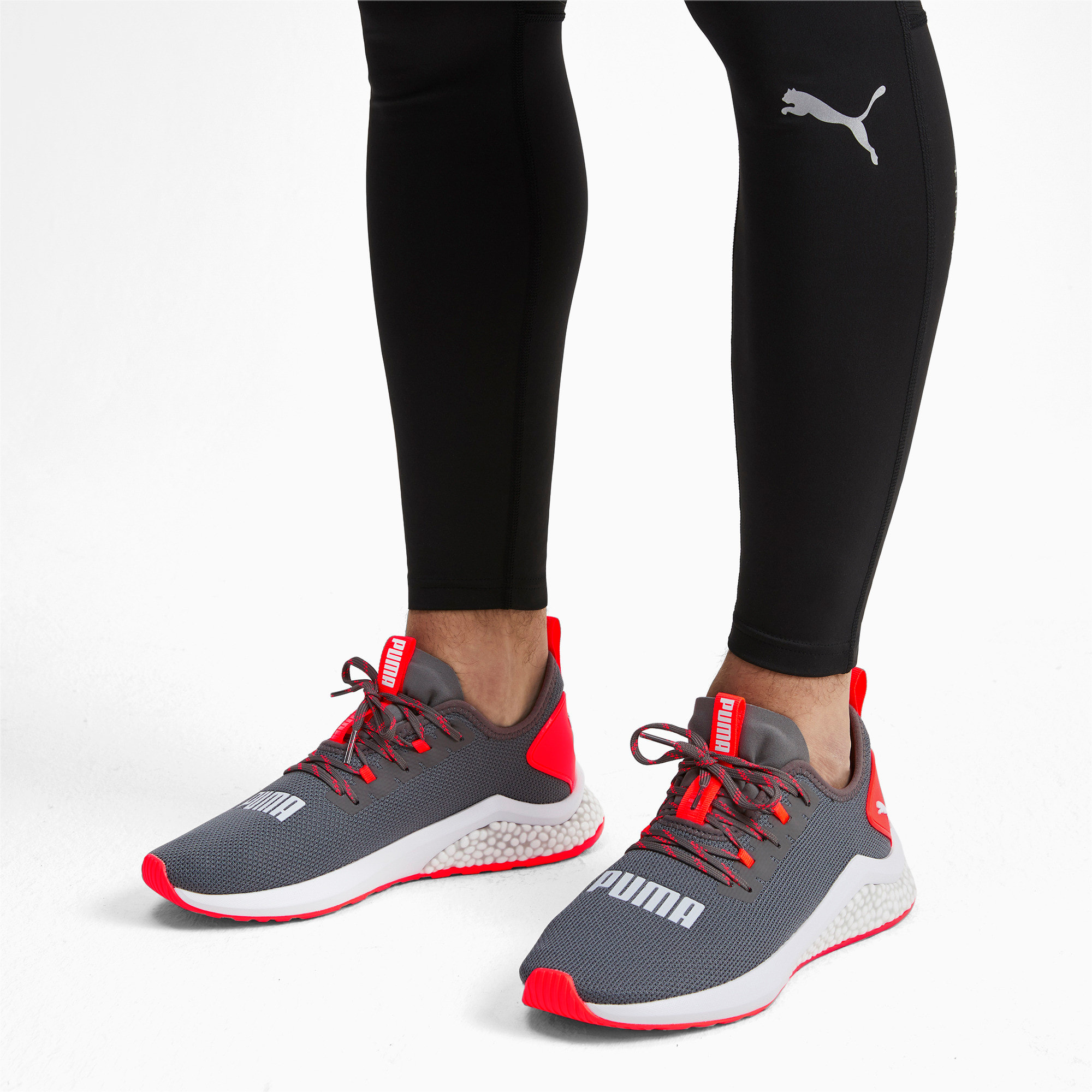 Thumbnail 2 of HYBRID NX Men's Running Shoes, CASTLEROCK-Nrgy Red, medium
