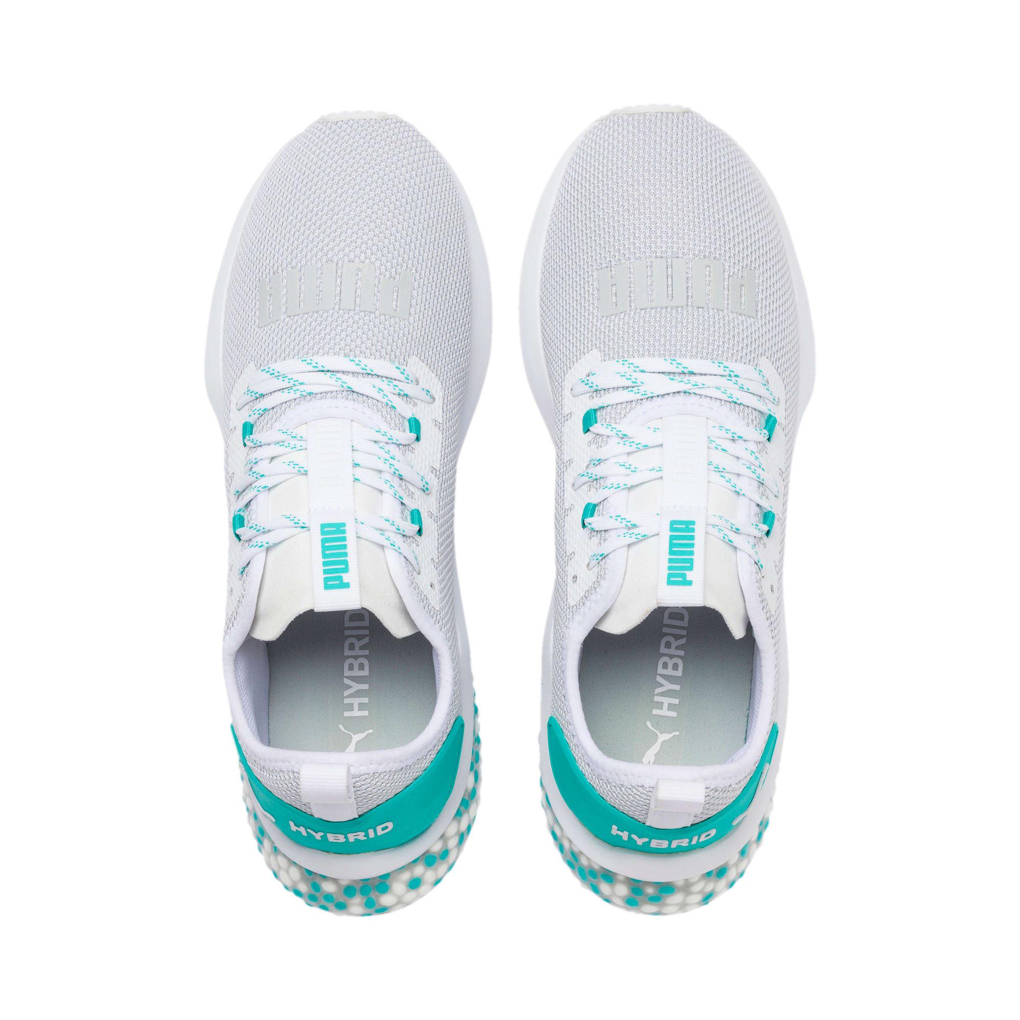 Thumbnail 7 of HYBRID NX Men's Running Shoes, Puma White-Blue Turquoise, medium