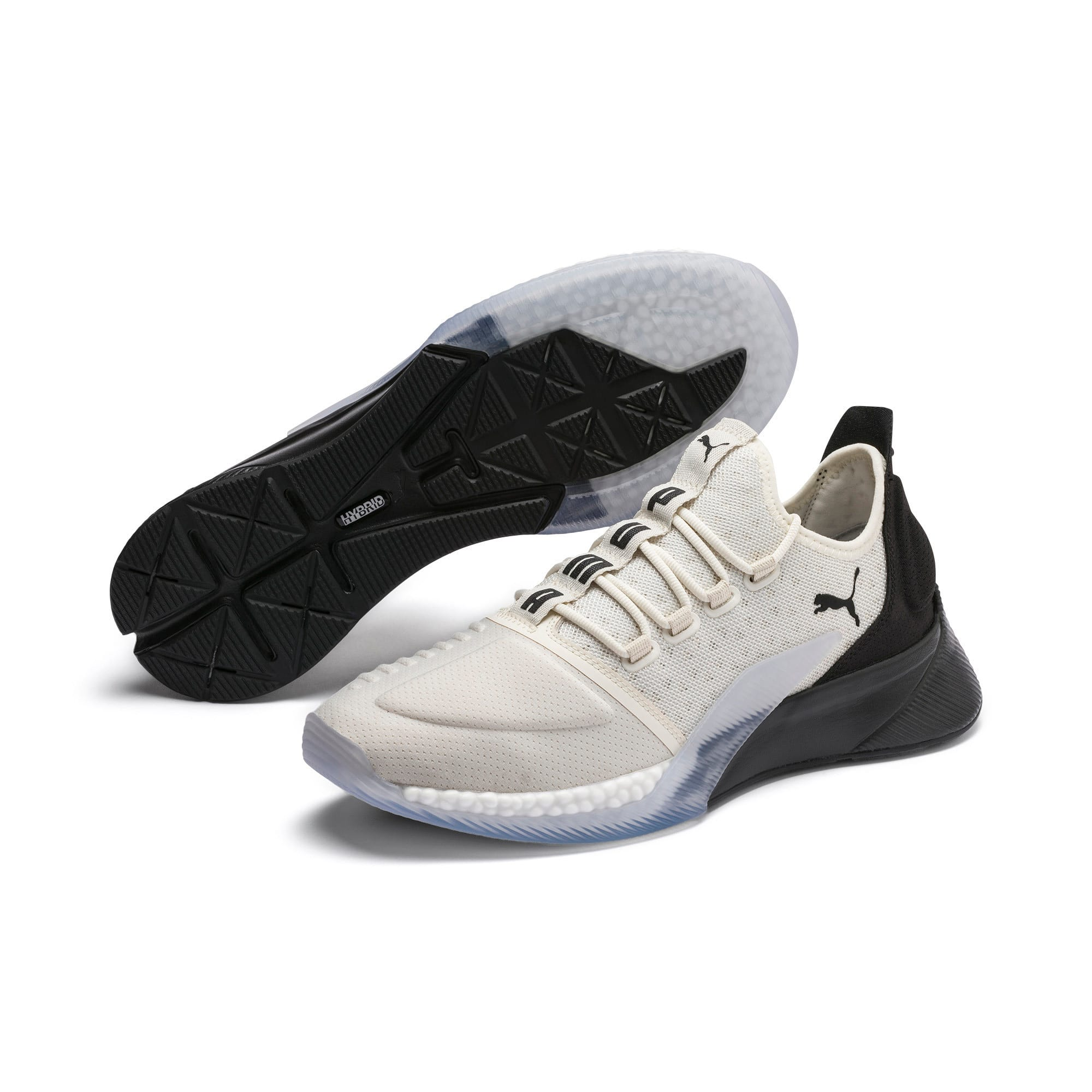 Thumbnail 2 of Xcelerator Running Shoes, Whisper White-Puma Black, medium