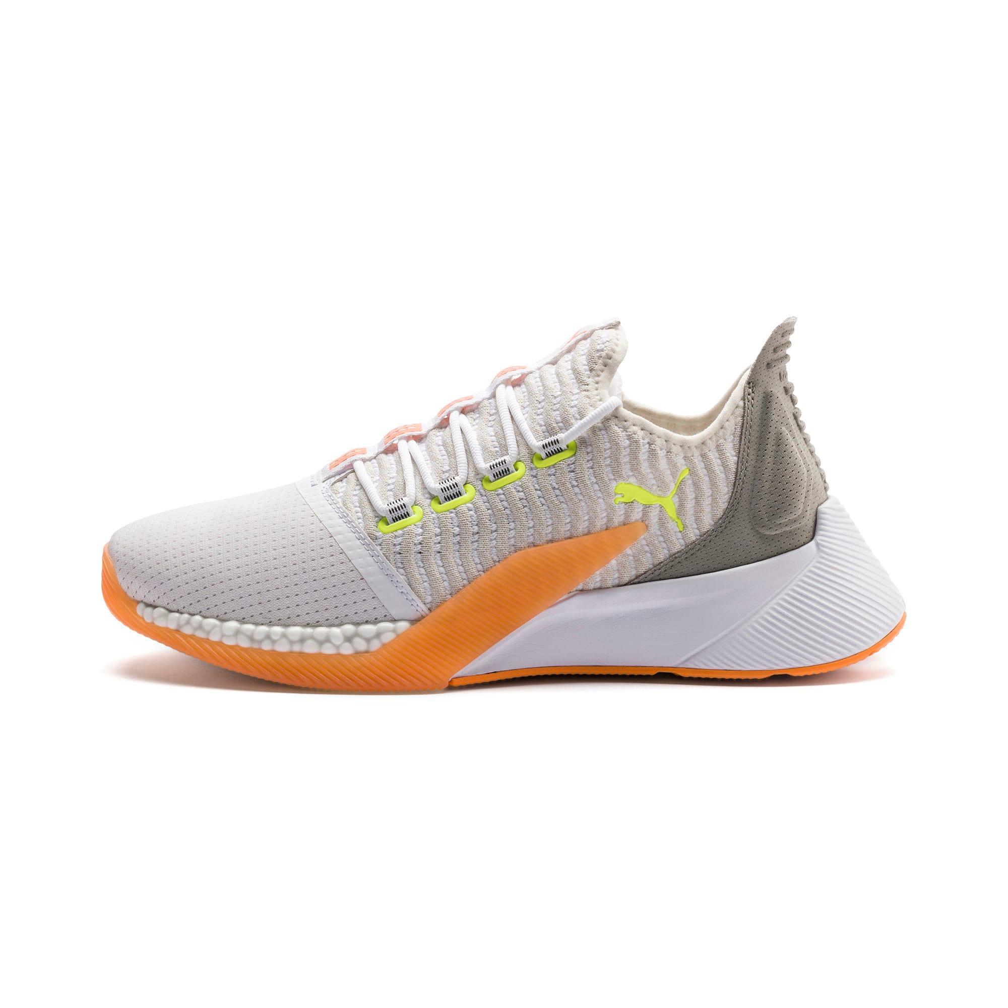 Thumbnail 1 of Xcelerator Daylight Running Shoes, White-VGray-Orange-Yellow, medium
