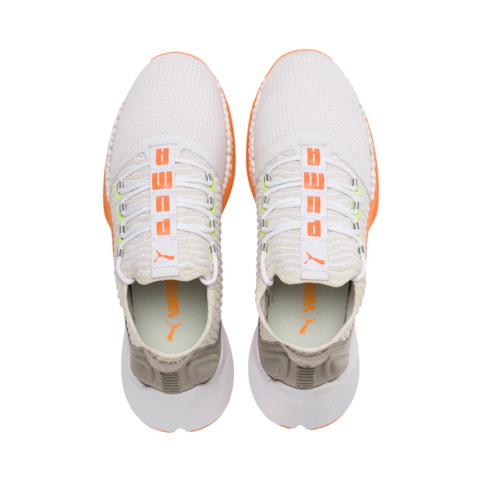 Thumbnail 6 of Xcelerator Daylight Running Shoes, White-VGray-Orange-Yellow, medium
