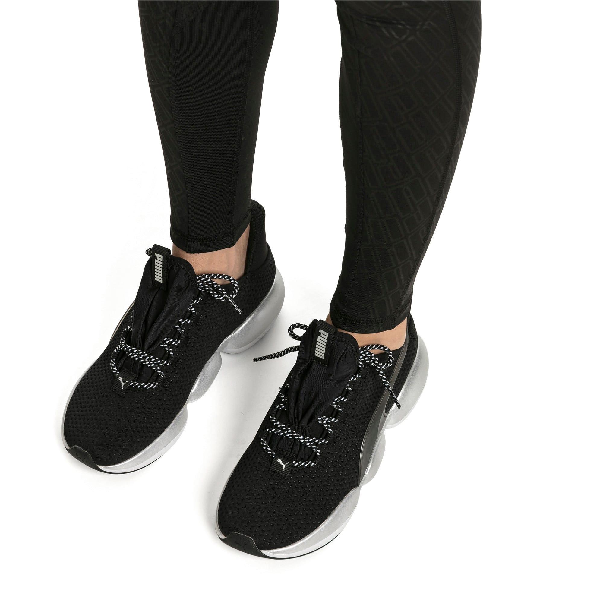 Imagen en miniatura 2 de Zapatillas de training de mujer Mode XT, Puma Black-Puma White, mediana
