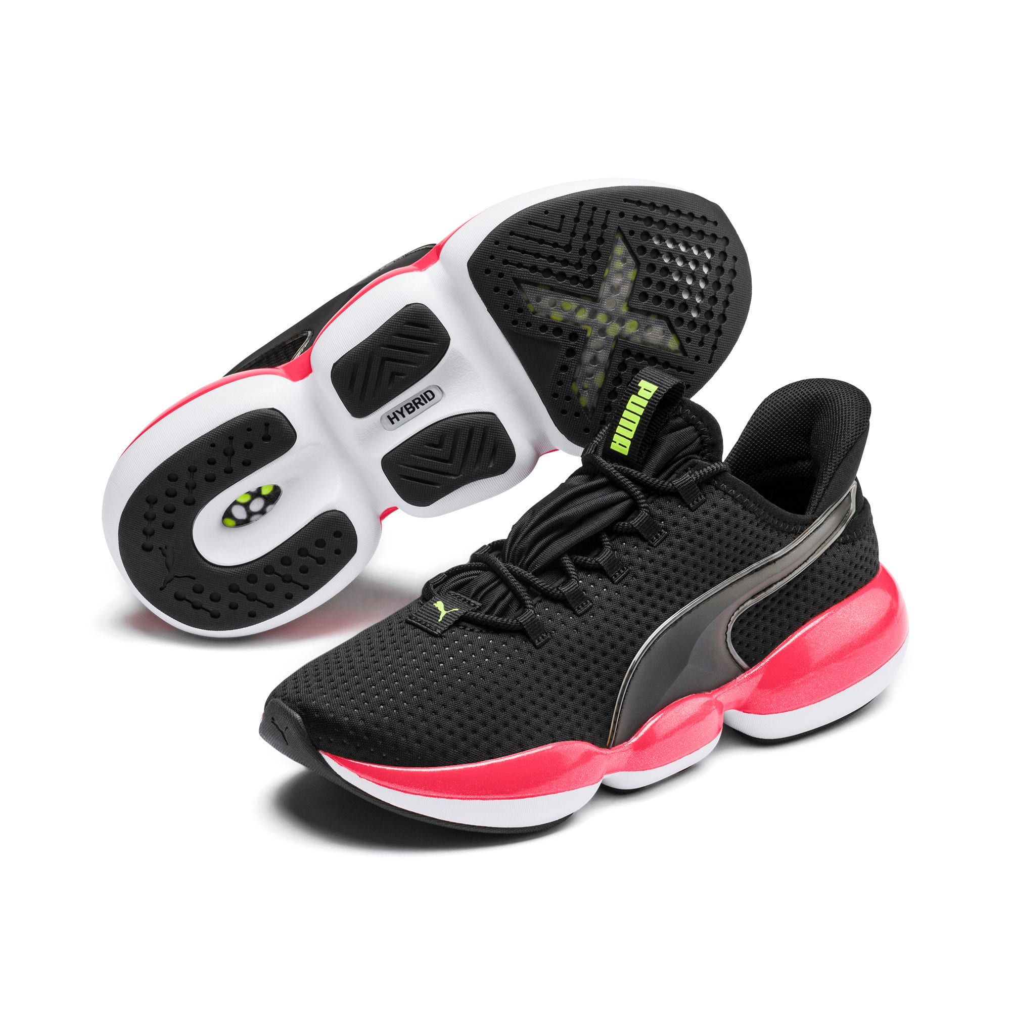Thumbnail 3 of Mode XT Damen Trainingsschuhe, Puma Black-Pink Alert, medium
