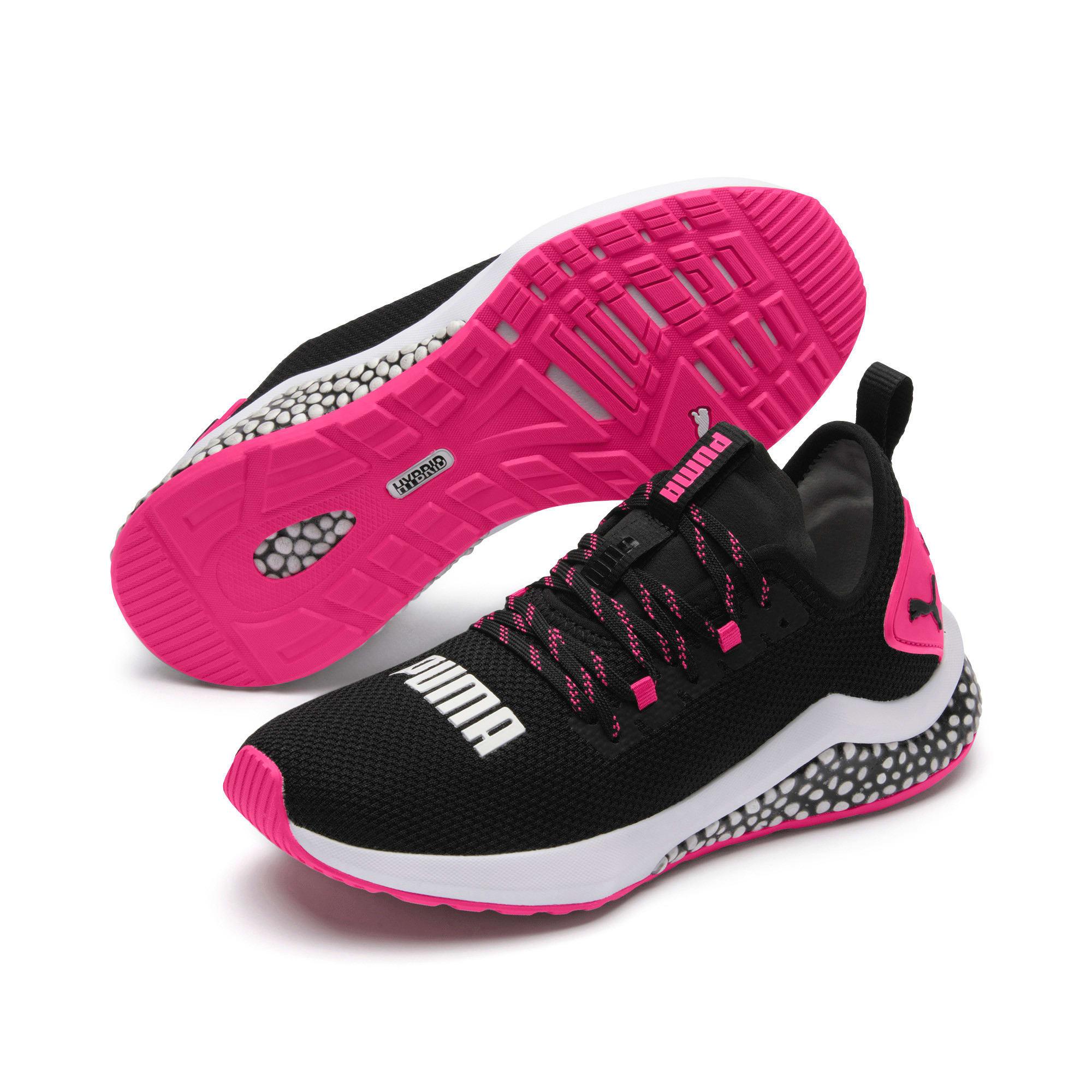 Miniatura 3 de Zapatos para correr HYBRID NX para mujer, Puma Black-Fuchsia Purple, mediano