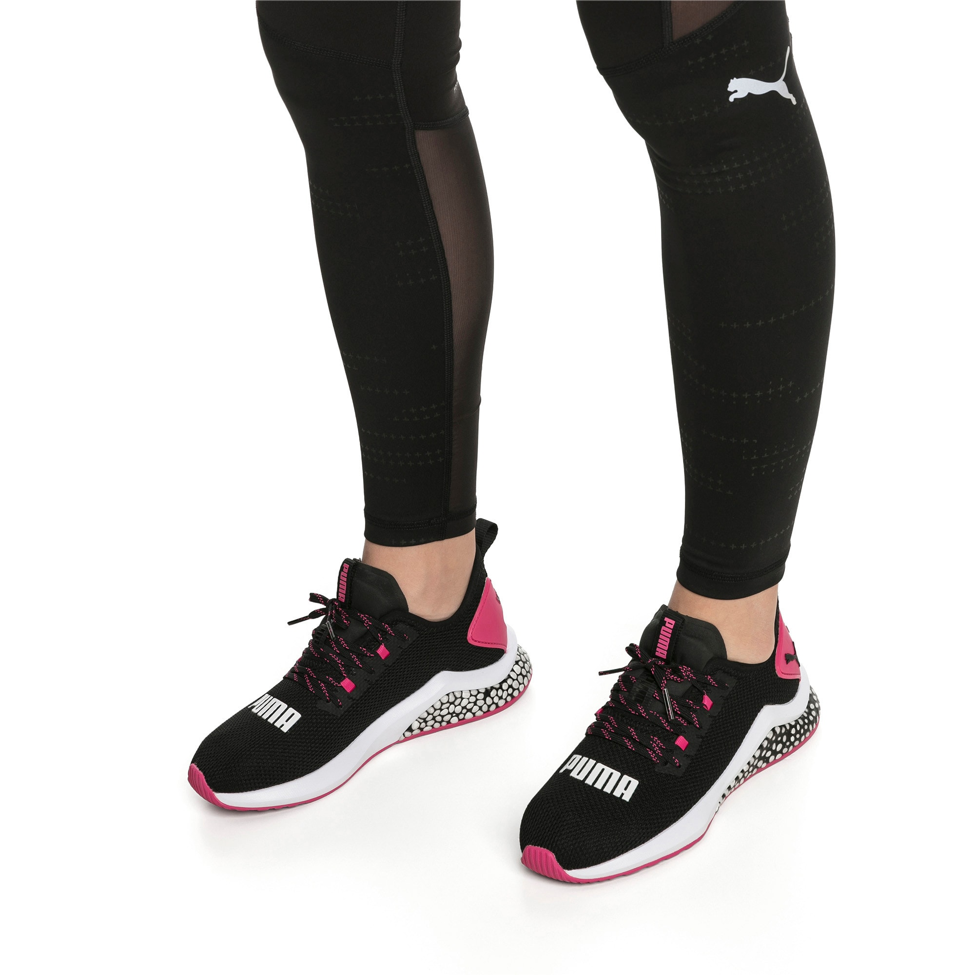 Miniatura 2 de Zapatos para correr HYBRID NX para mujer, Puma Black-Fuchsia Purple, mediano