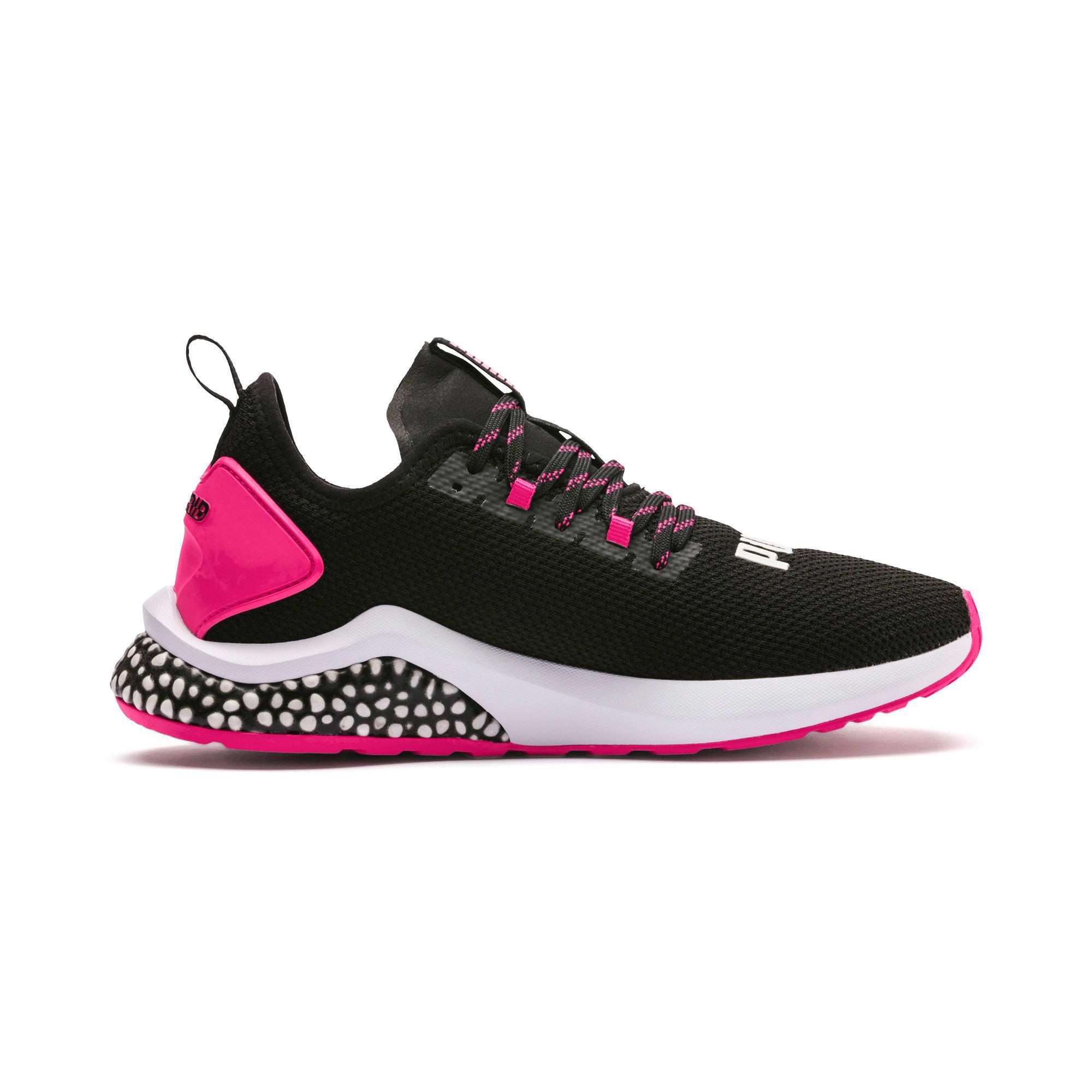 Miniatura 6 de Zapatos para correr HYBRID NX para mujer, Puma Black-Fuchsia Purple, mediano