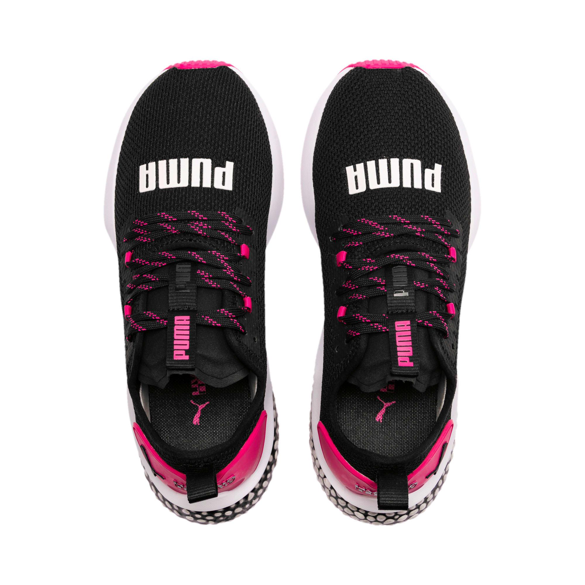 Thumbnail 7 of ハイブリッド NX ウィメンズ, Puma Black-Fuchsia Purple, medium-JPN