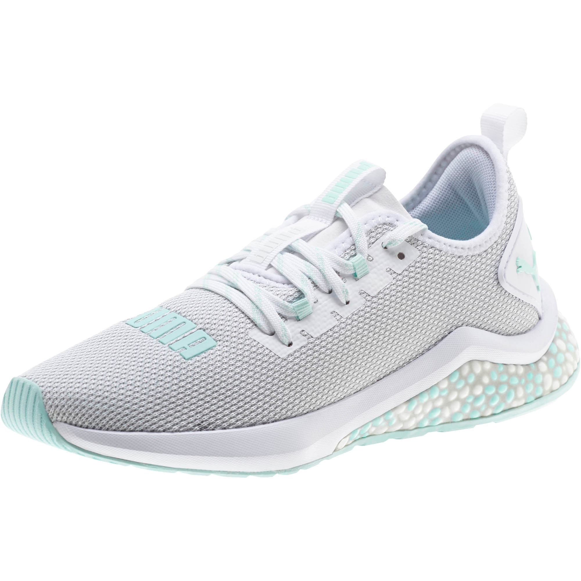 Thumbnail 1 of HYBRID NX Women's Running Shoes, Puma White-Fair Aqua, medium