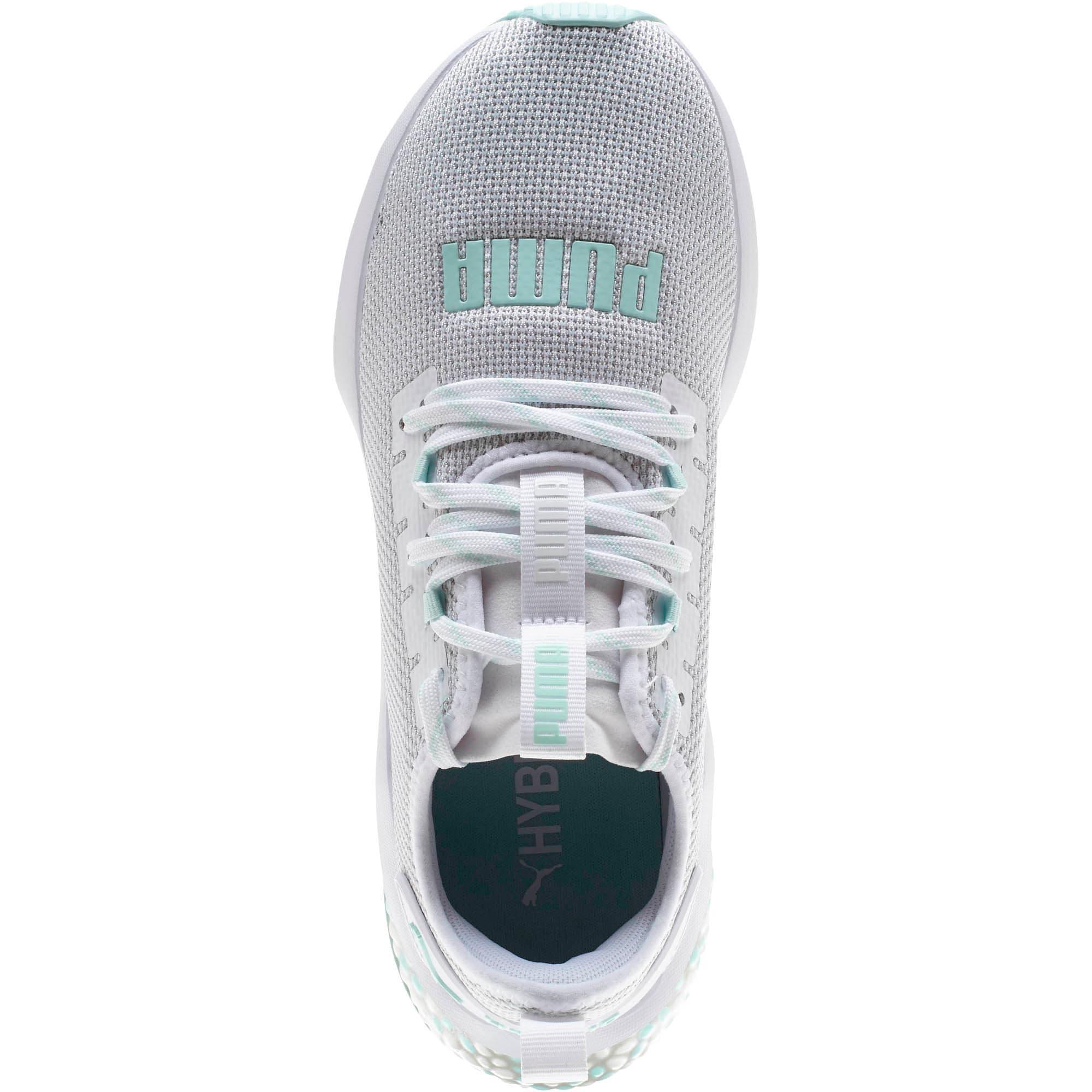 Thumbnail 5 of HYBRID NX Women's Running Shoes, Puma White-Fair Aqua, medium