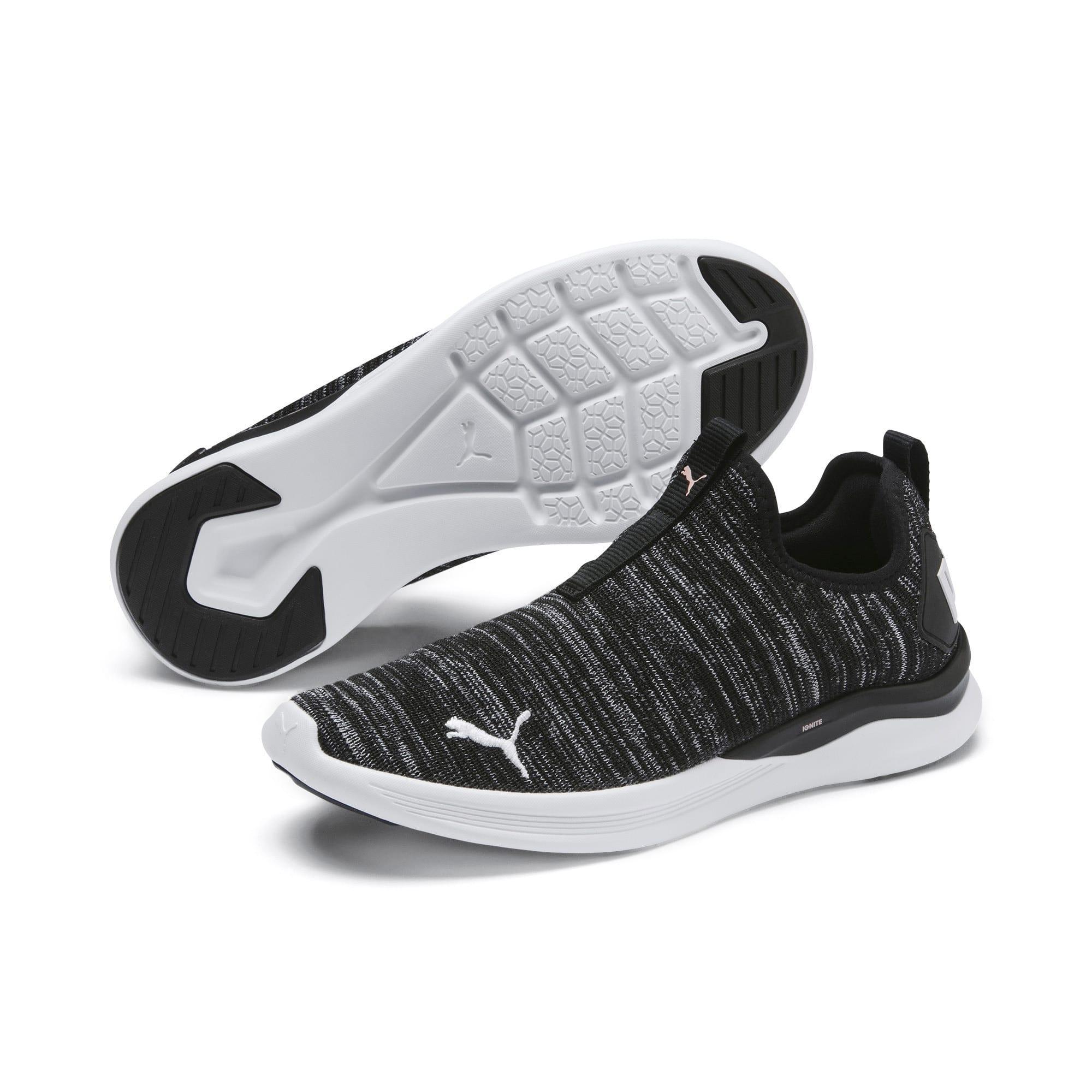 Thumbnail 2 of IGNITE Flash Summer Slip Women's Training Shoes, Puma Black-Puma White, medium