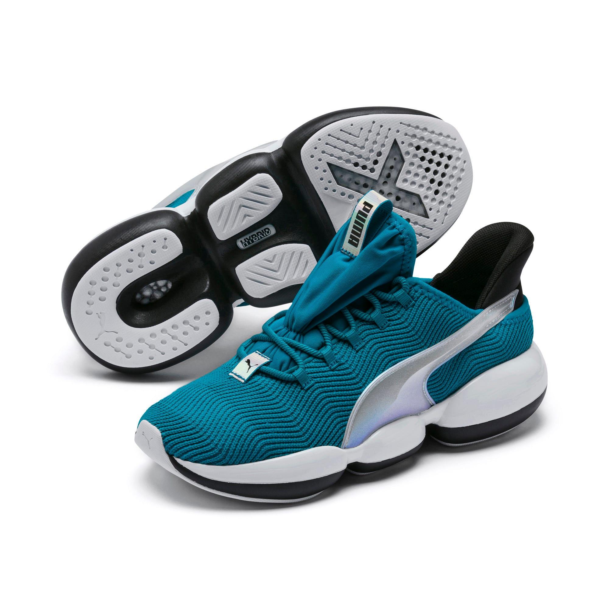 Thumbnail 3 of Mode XT Trailblazer Iridescent Women's Training Shoes, Caribbean Sea-Puma White, medium