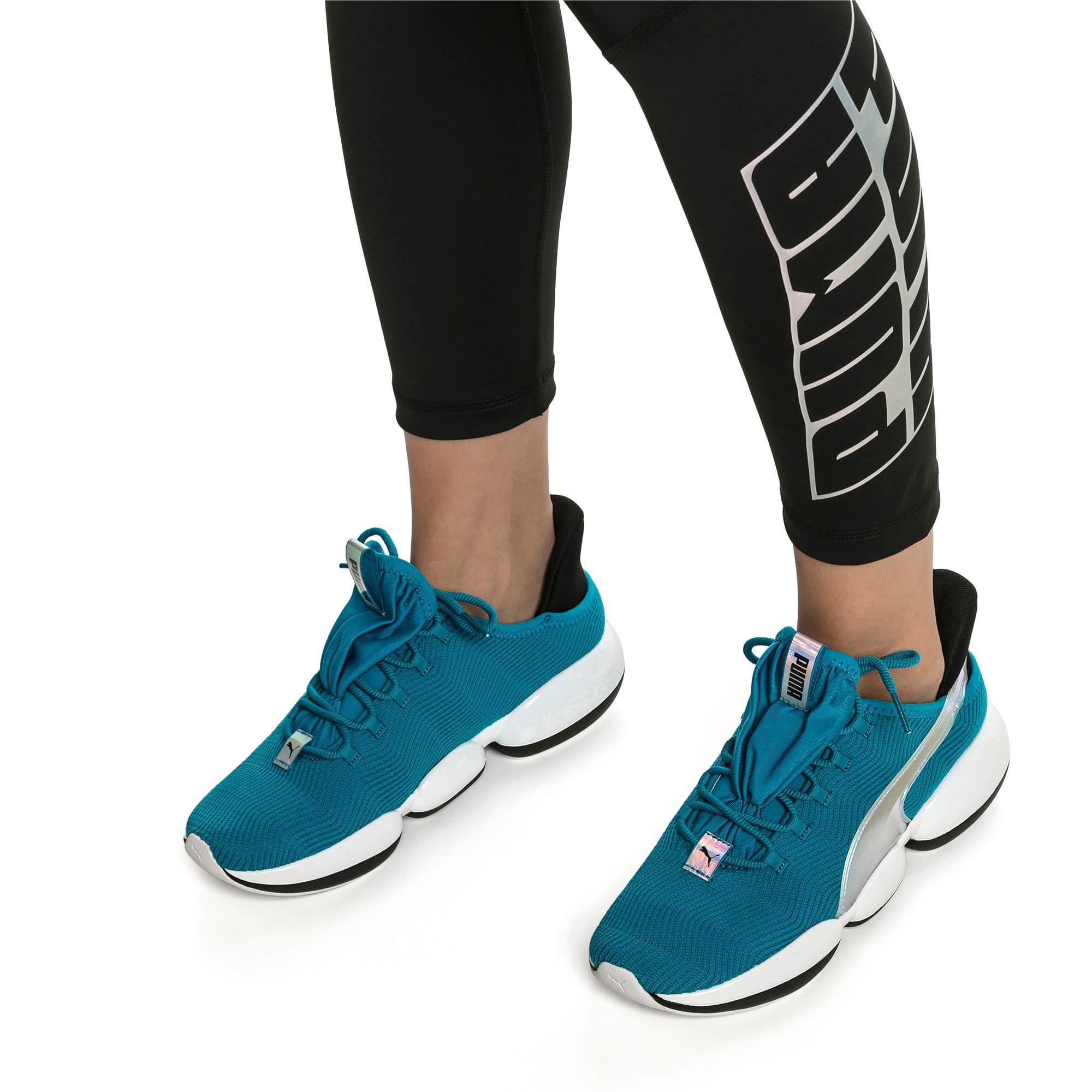 Thumbnail 2 of Mode XT Trailblazer Iridescent Women's Training Shoes, Caribbean Sea-Puma White, medium
