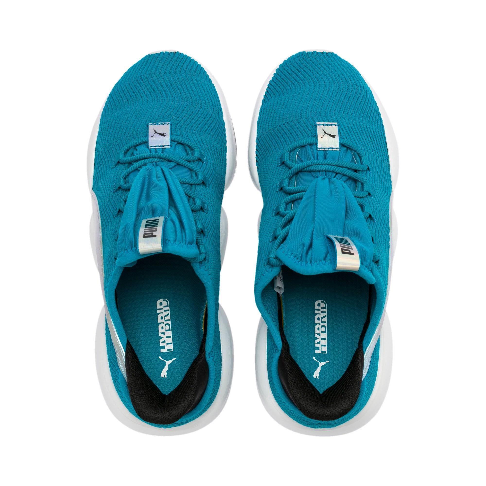 Thumbnail 7 of Mode XT Trailblazer Iridescent Women's Training Shoes, Caribbean Sea-Puma White, medium