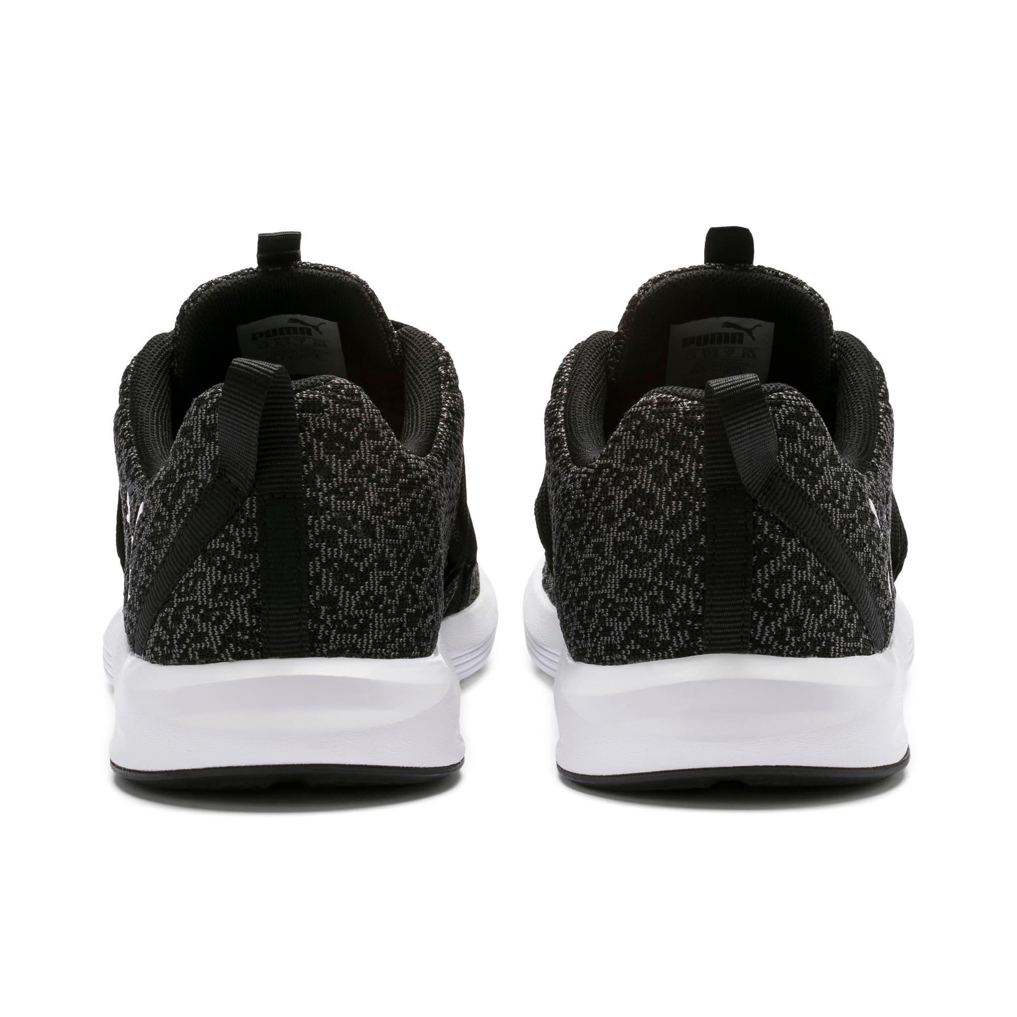 Thumbnail 4 of Prowl Alt Knit Women's Training Shoes, Puma Black-Puma White, medium