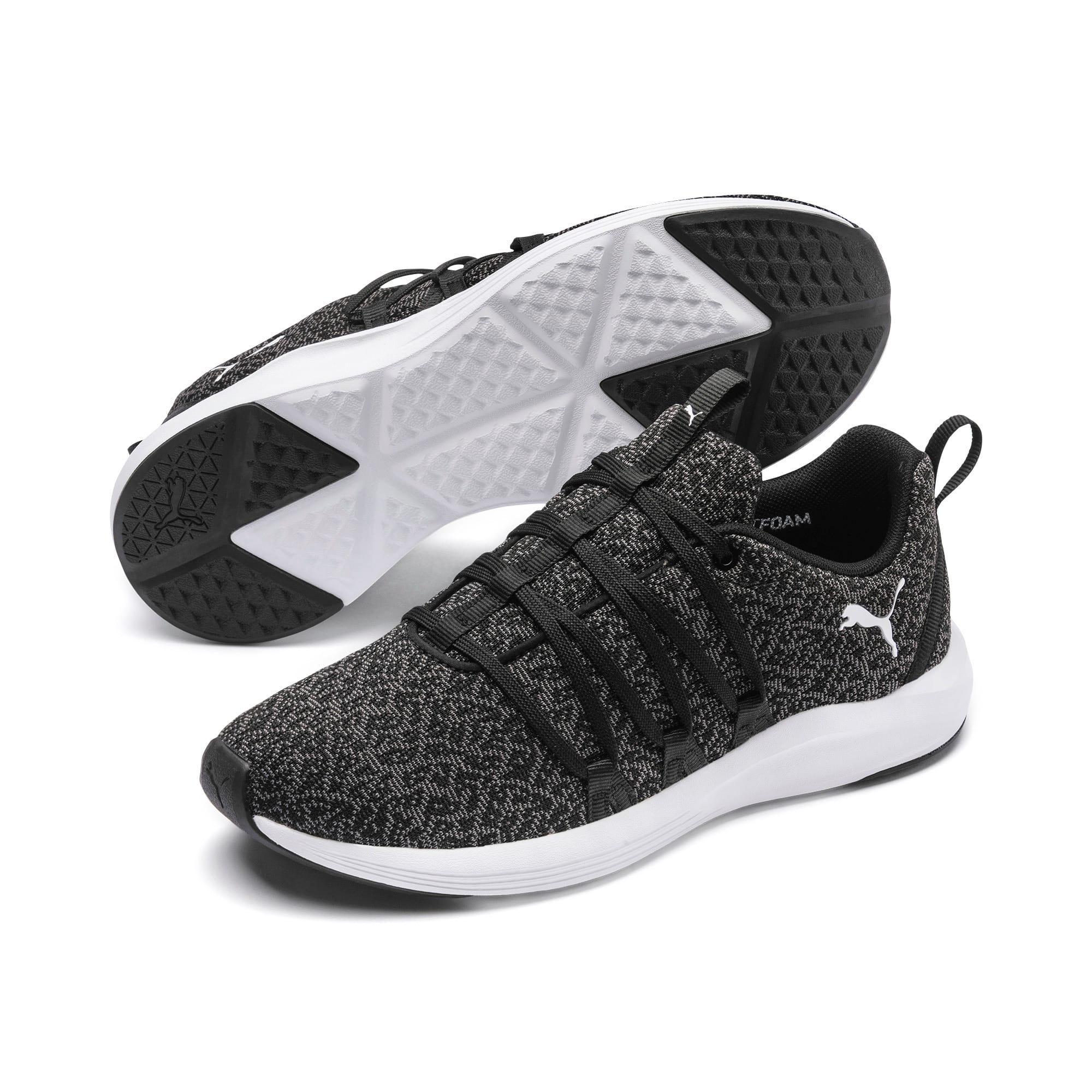 Thumbnail 2 of Prowl Alt Knit Women's Training Shoes, Puma Black-Puma White, medium