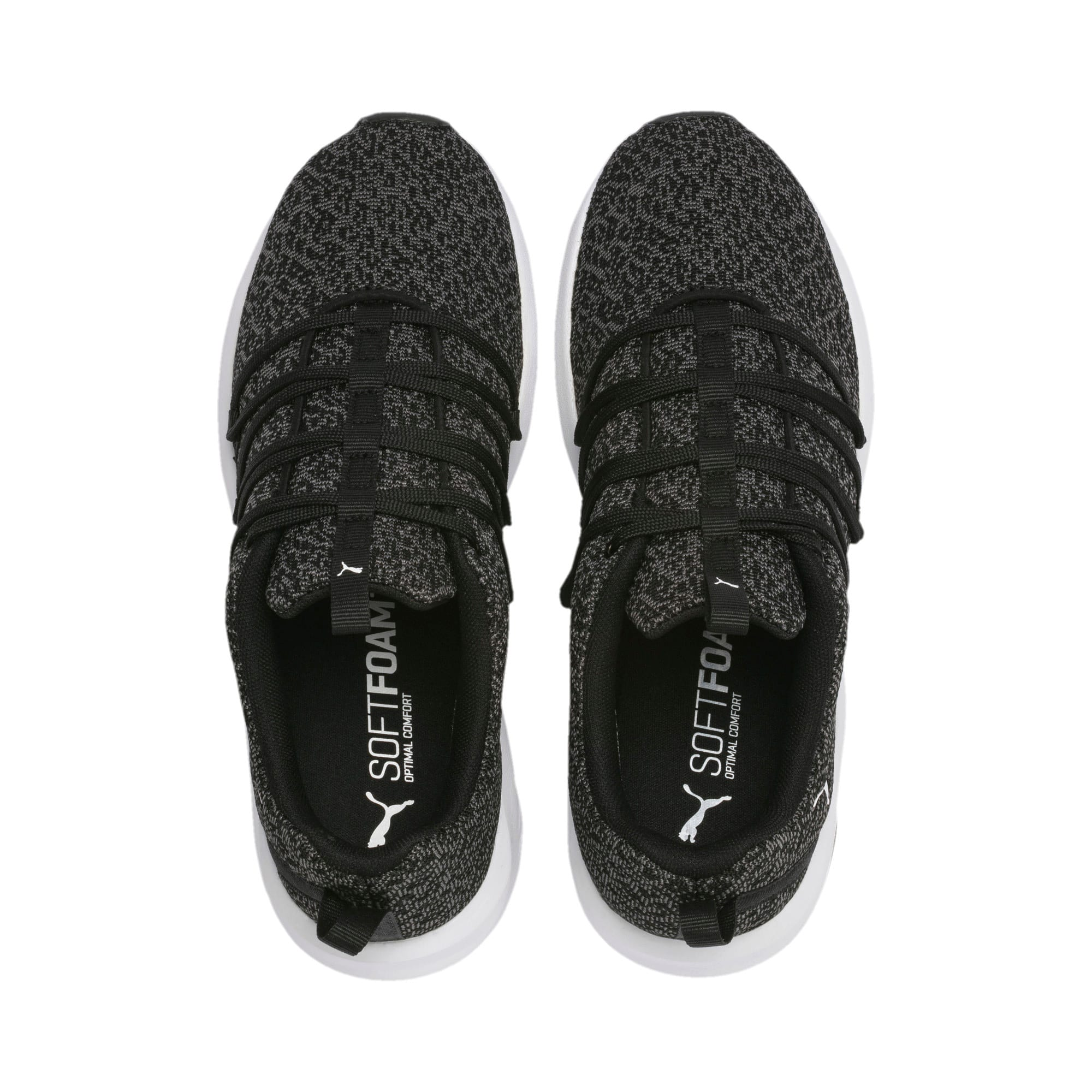 Thumbnail 6 of Prowl Alt Knit Women's Training Shoes, Puma Black-Puma White, medium