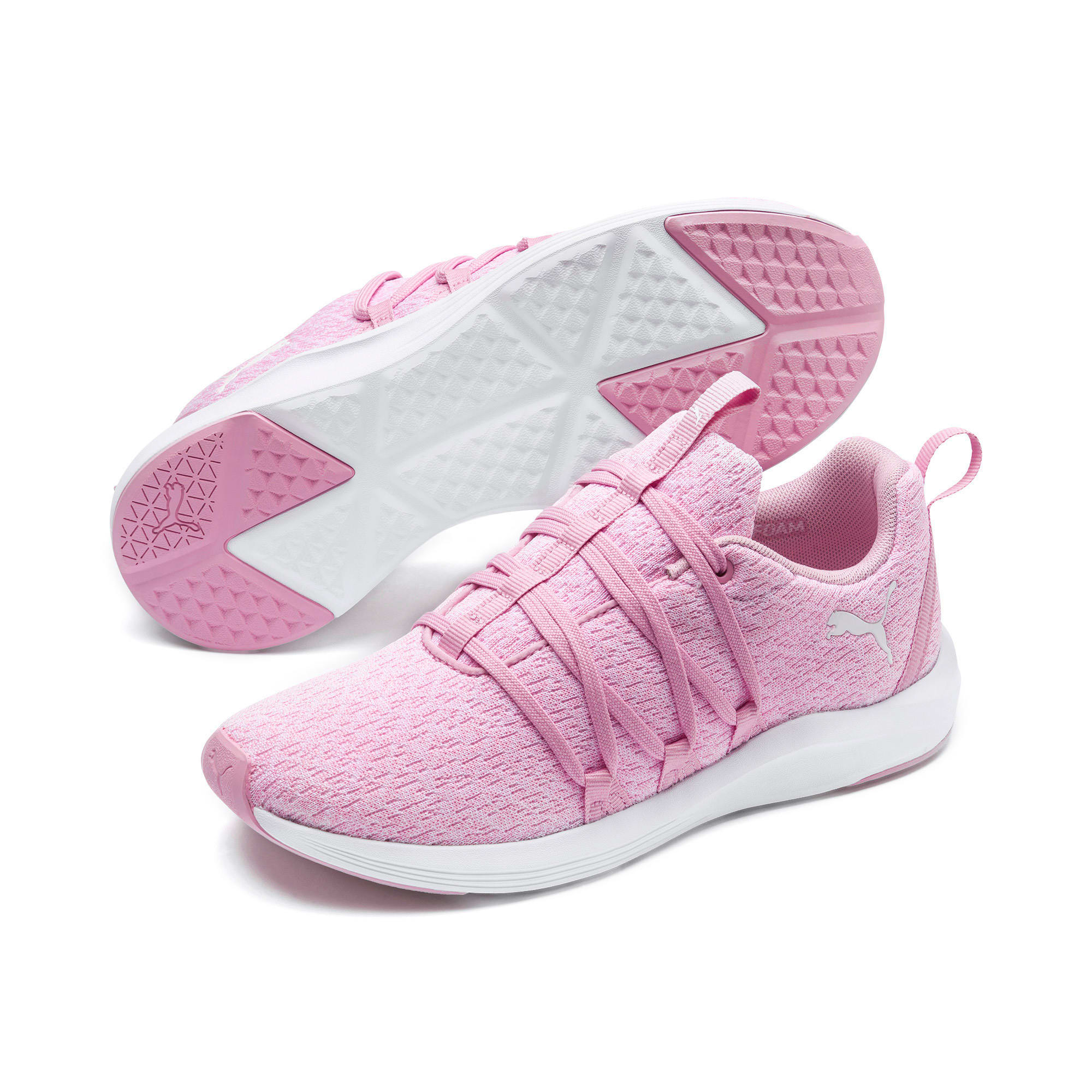 Prowl Alt Knit Women's Training Shoes, Pale Pink-Puma White, large