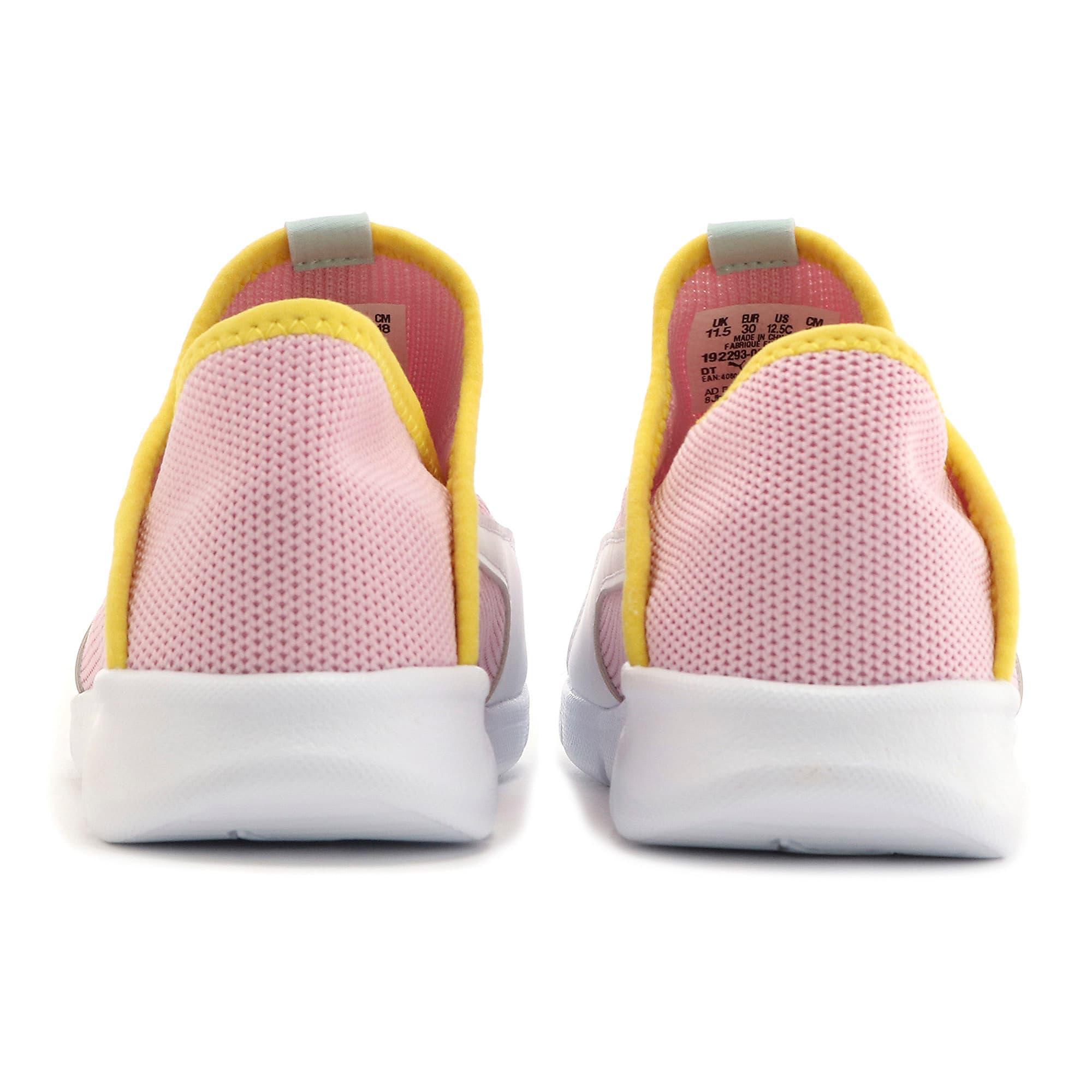 Thumbnail 3 of キッズ プーマ バオ 3 ソック PS 17-21cm, Pale Pink-White-Blazi Yellow, medium-JPN