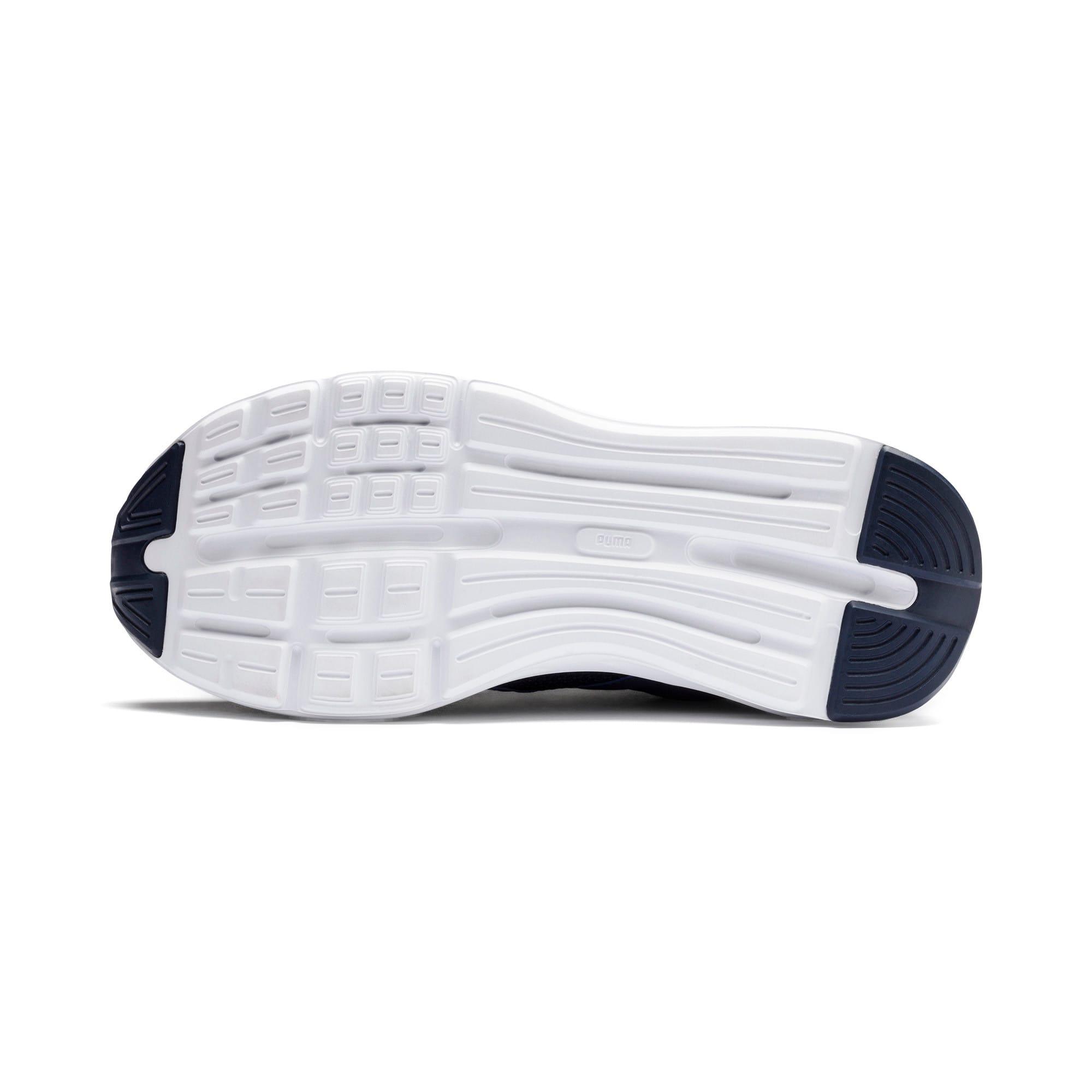 Thumbnail 3 of Enzo Weave Sneakers JR, Peacoat- Silver-Puma White, medium