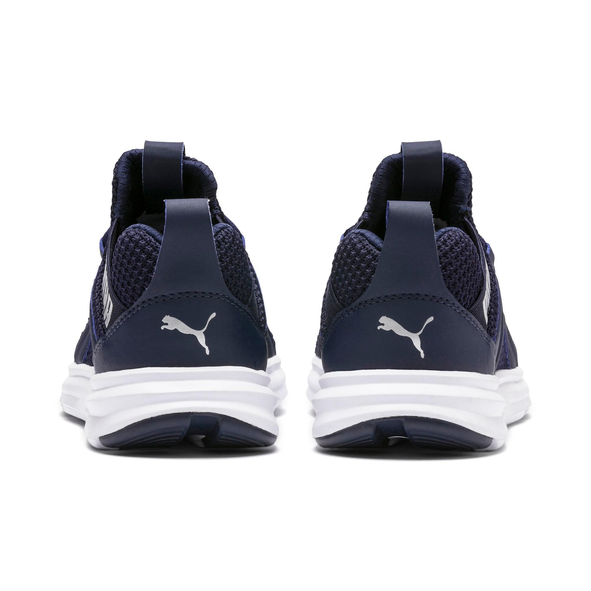 Thumbnail 4 of Enzo Weave AC Sneakers PS, Peacoat - Silver-Puma White, medium