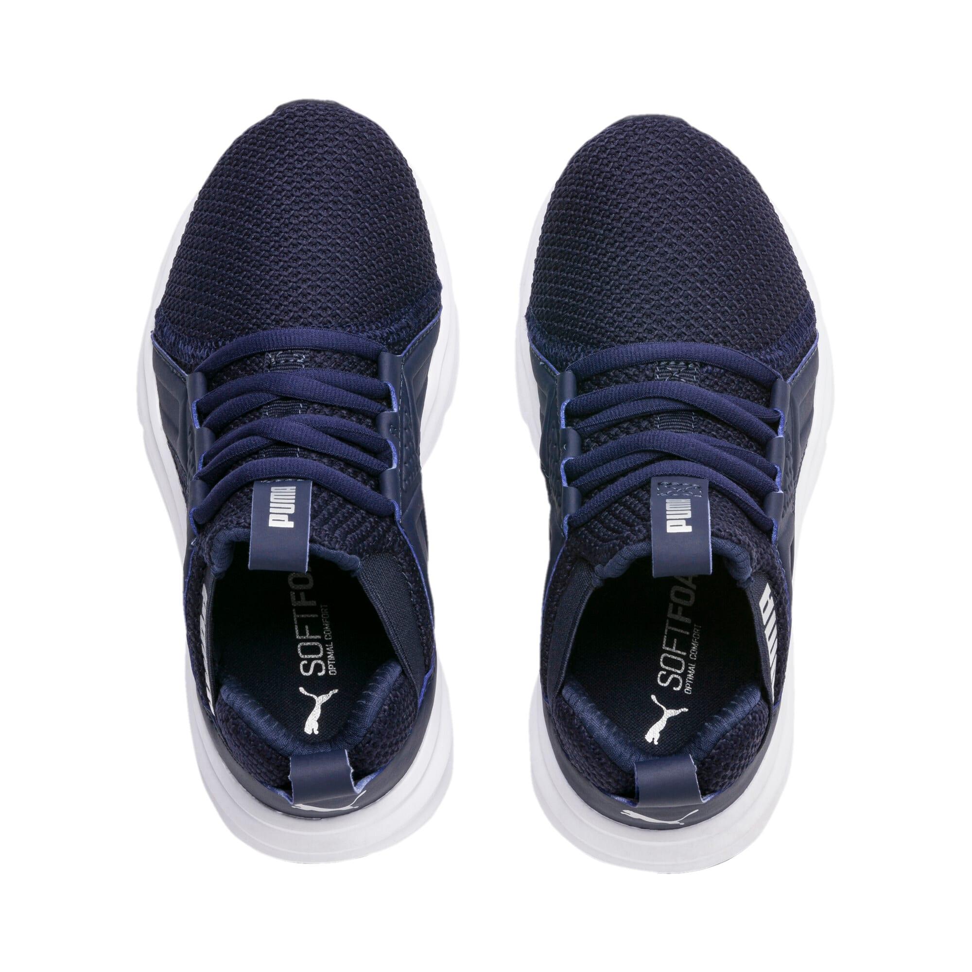 Thumbnail 6 of Enzo Weave AC Sneakers PS, Peacoat - Silver-Puma White, medium