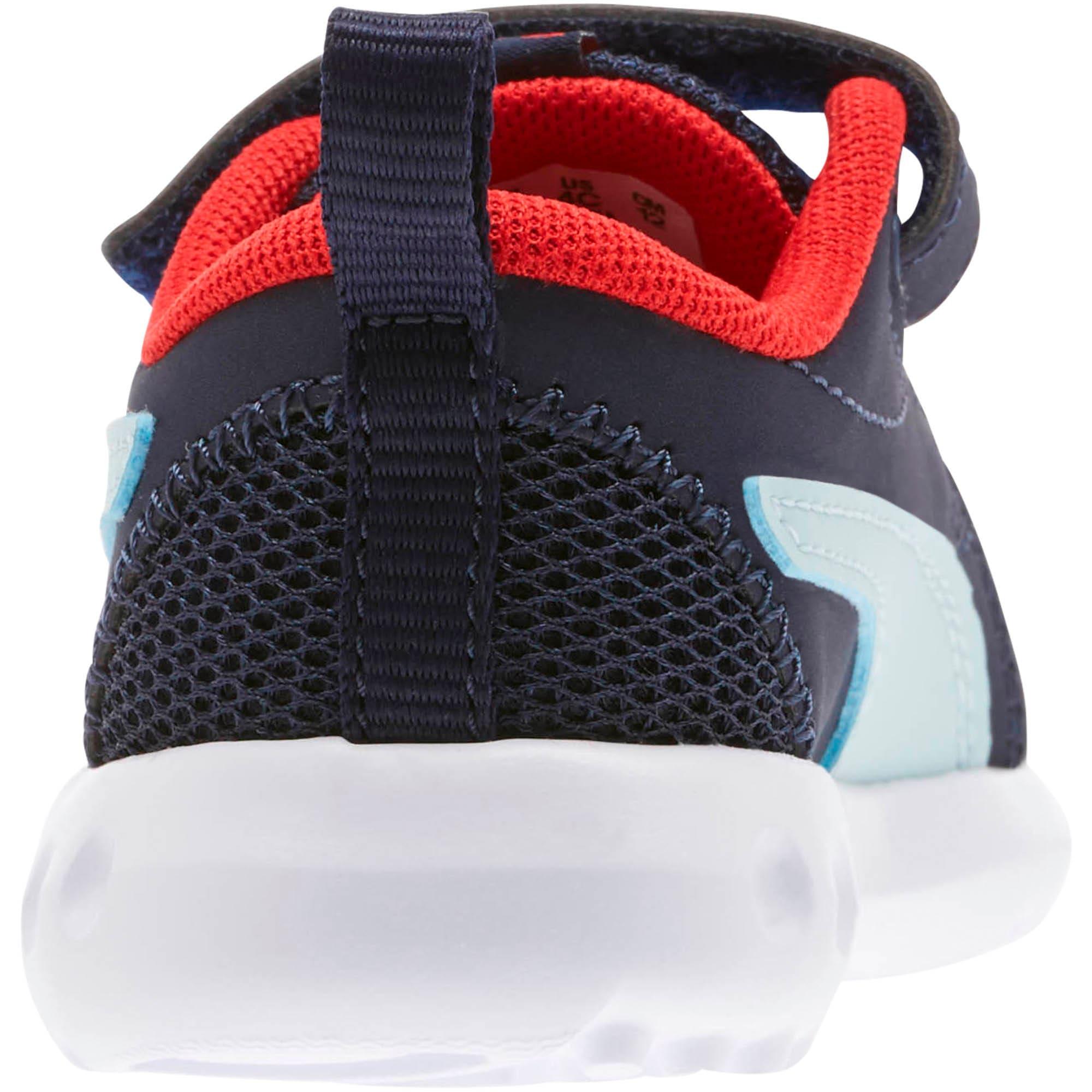 Miniatura 3 de Zapatos Carson2 Casual para bebés, Peacoat-Light Sky-Red, mediano
