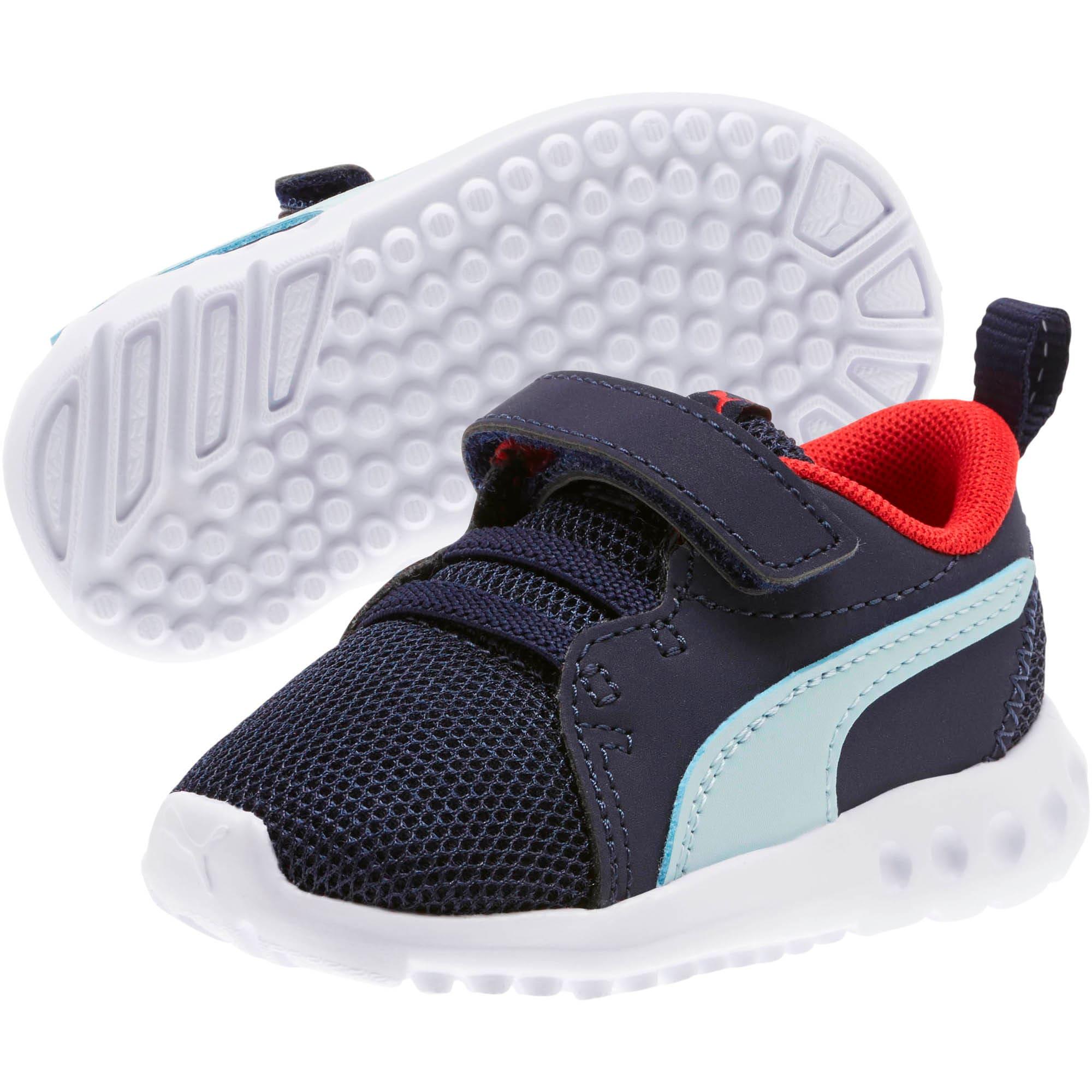 Miniatura 2 de Zapatos Carson2 Casual para bebés, Peacoat-Light Sky-Red, mediano