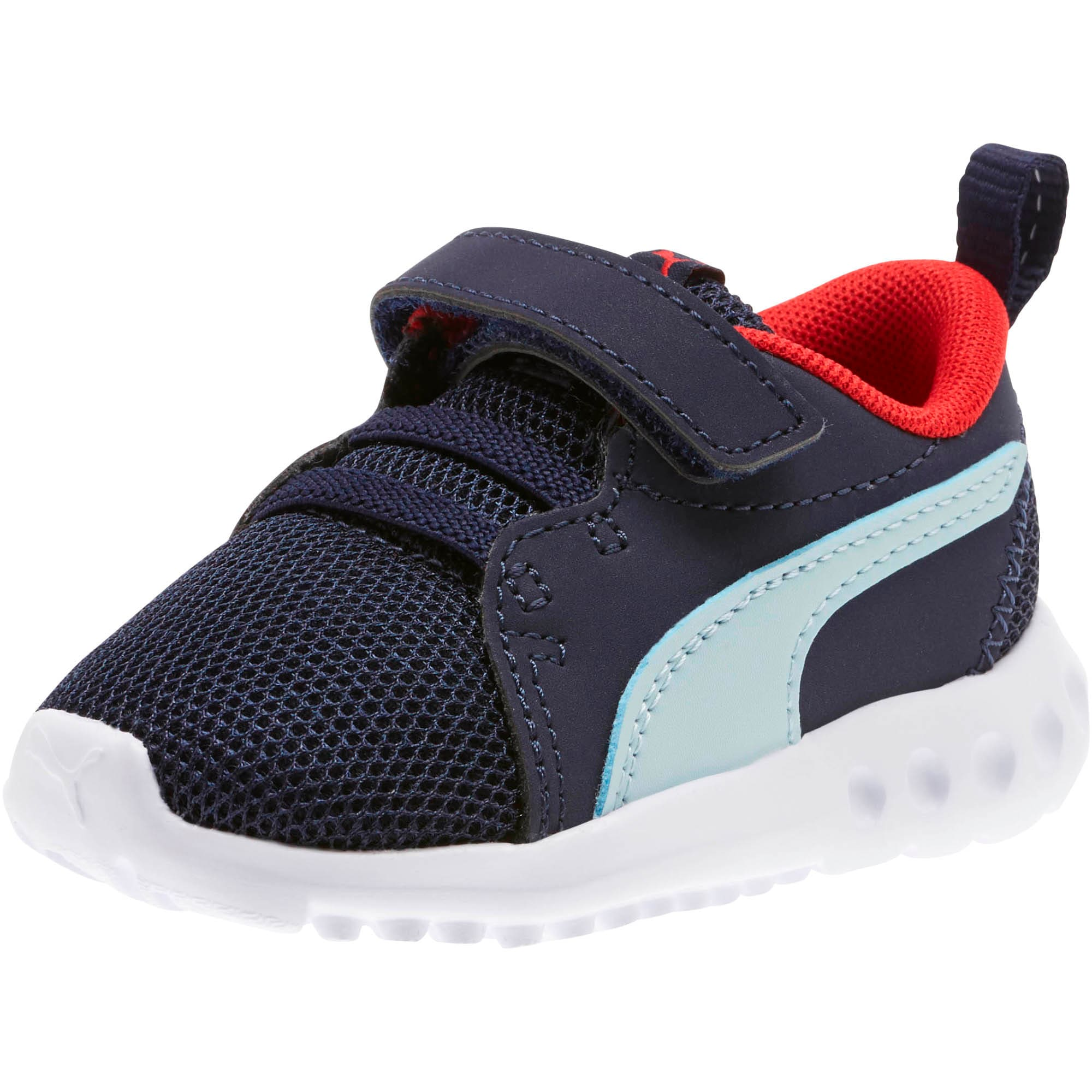 Miniatura 1 de Zapatos Carson2 Casual para bebés, Peacoat-Light Sky-Red, mediano