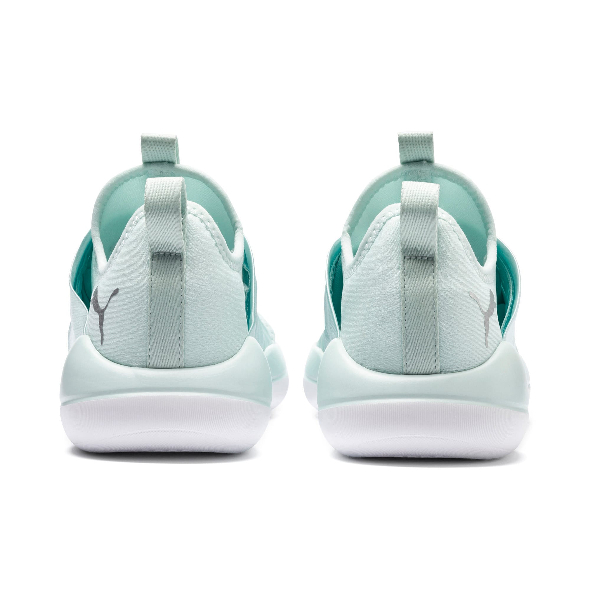 Thumbnail 4 of Flourish Cosmic Women's Training Shoes, Fair Aqua-Puma White, medium