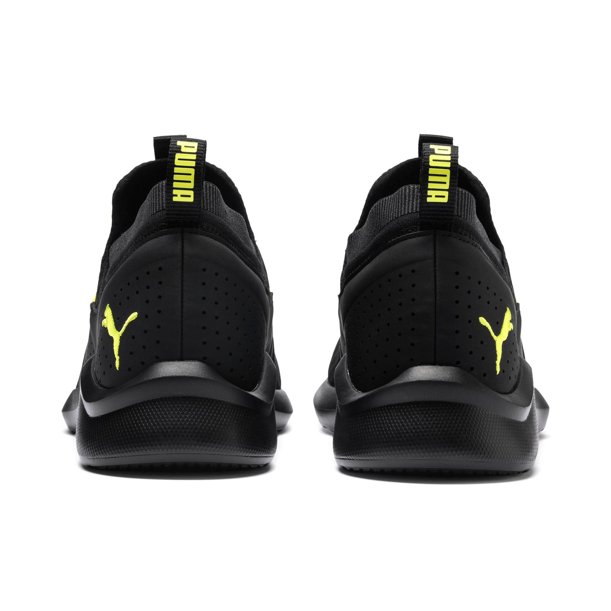 Thumbnail 4 of Emergence Future Men's Training Shoes, Black-Charcoal-Yellow, medium