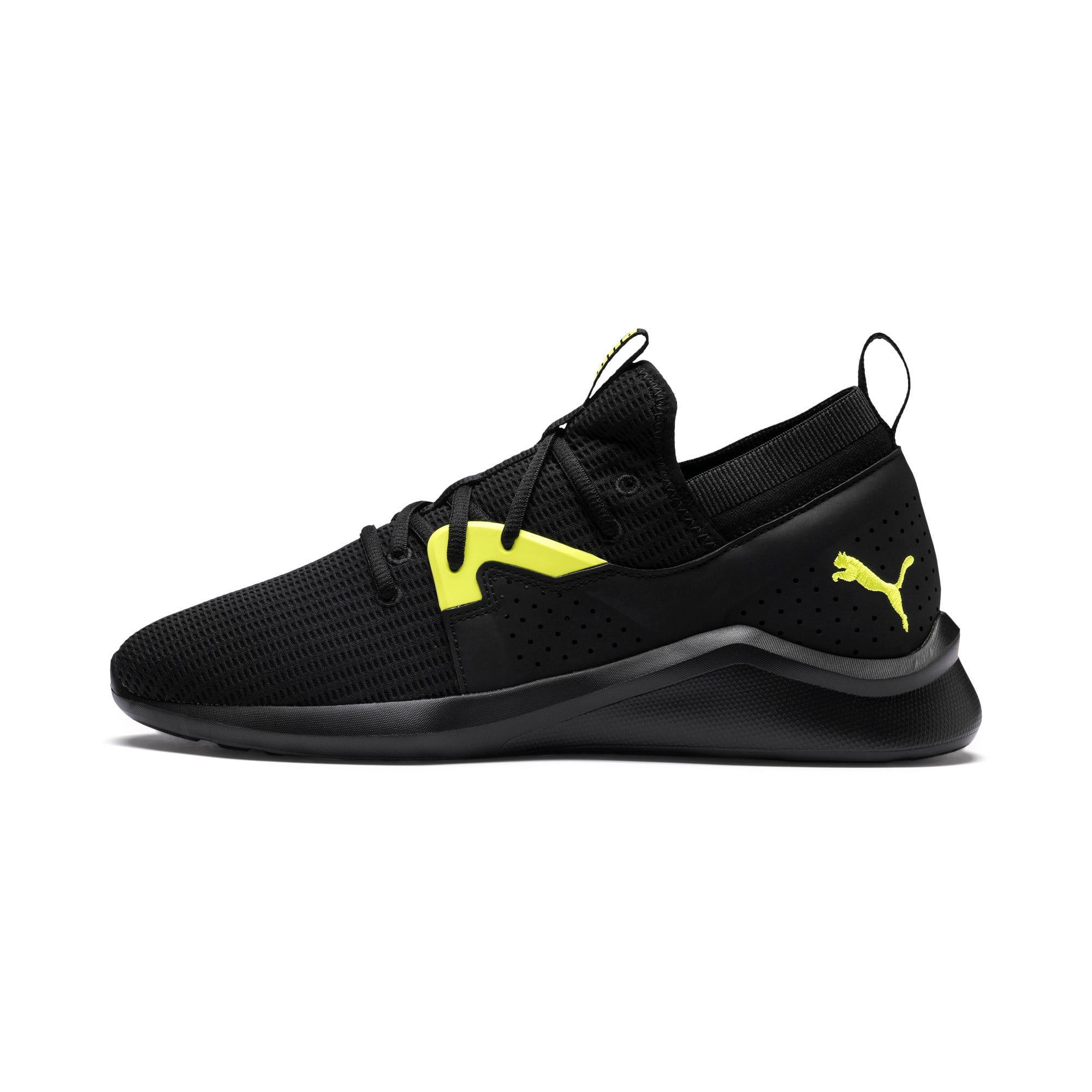 Thumbnail 1 of Emergence Future Men's Training Shoes, Black-Charcoal-Yellow, medium
