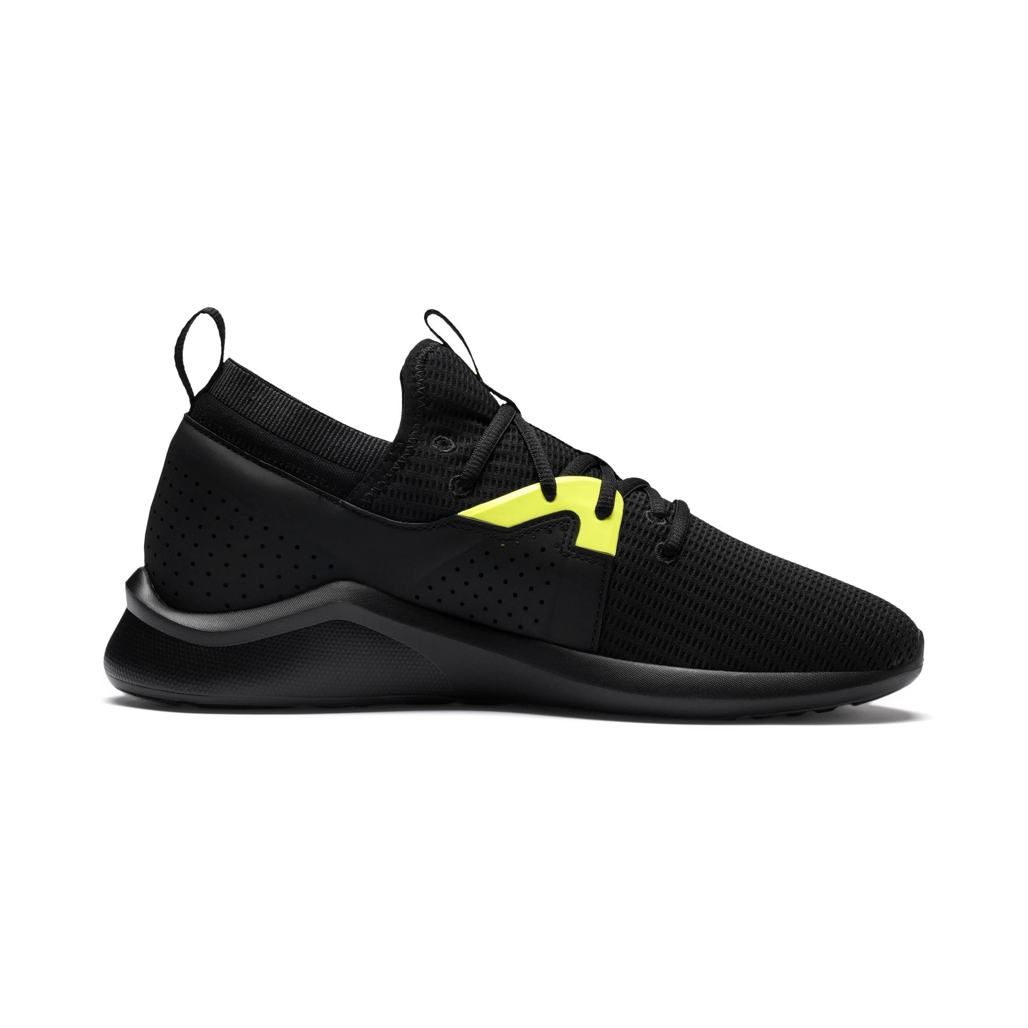 Thumbnail 5 of Emergence Future Men's Training Shoes, Black-Charcoal-Yellow, medium