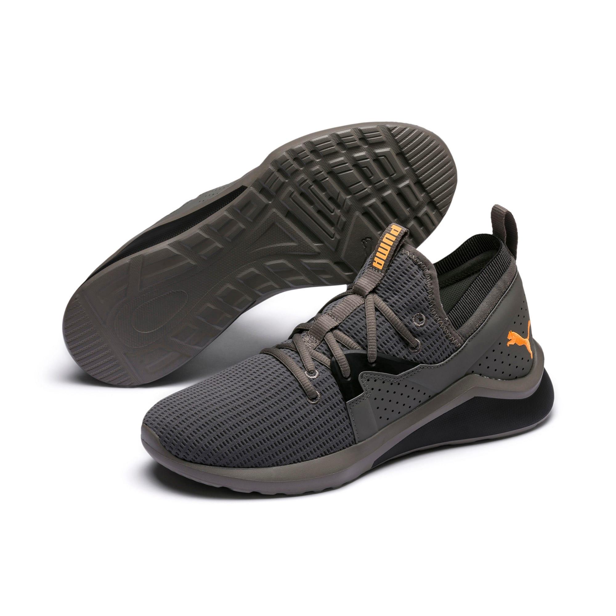 Miniatura 2 de Zapatos de entrenamiento Emergence Future para hombre, Charcoal Gray-Black-Orange, mediano