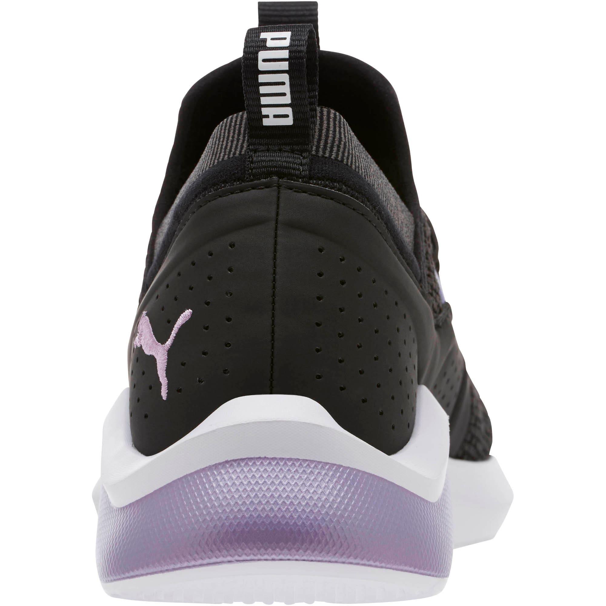 Thumbnail 4 of Emergence Cosmic Women's Sneakers, Puma Black-Sweet Lavender, medium