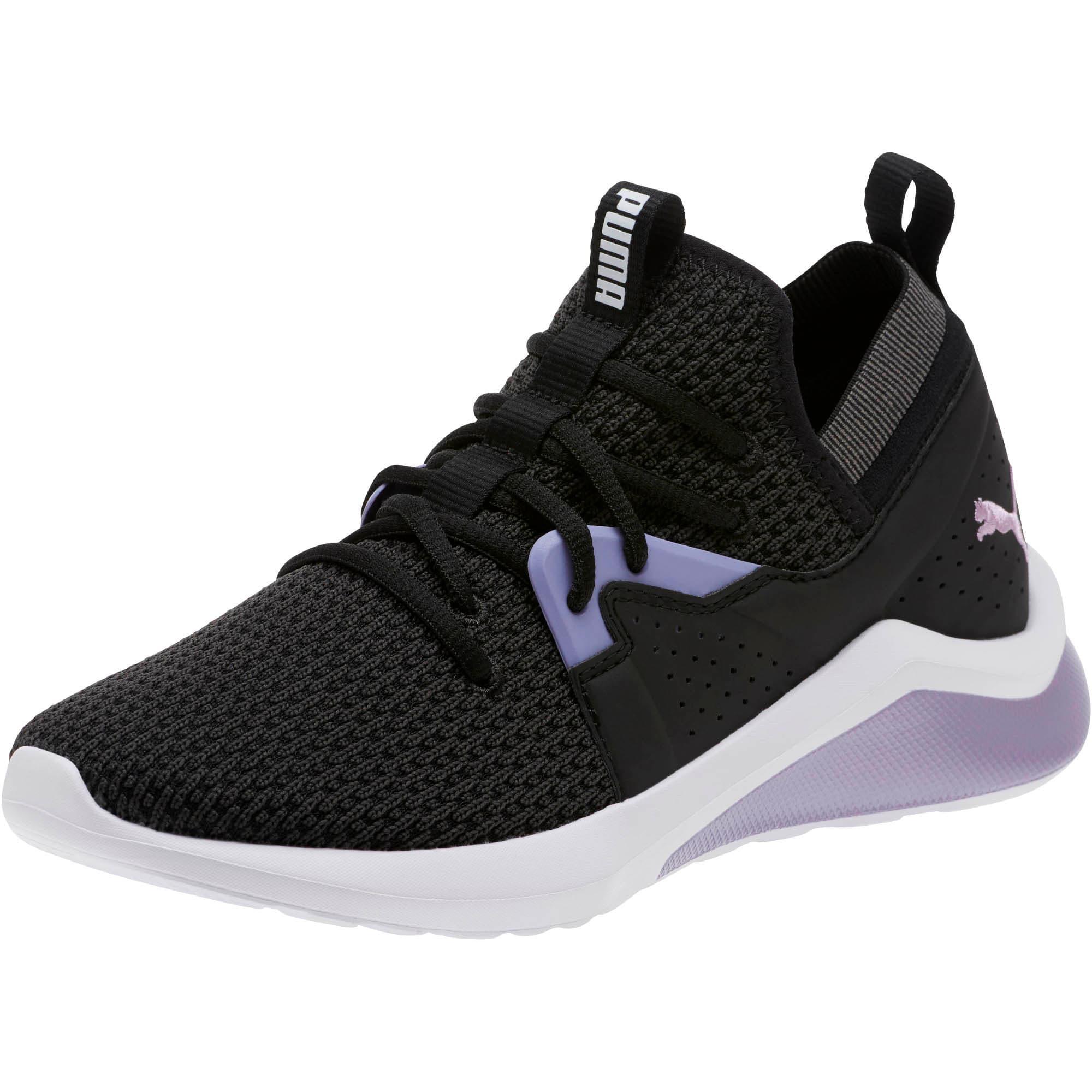 Thumbnail 1 of Emergence Cosmic Women's Sneakers, Puma Black-Sweet Lavender, medium