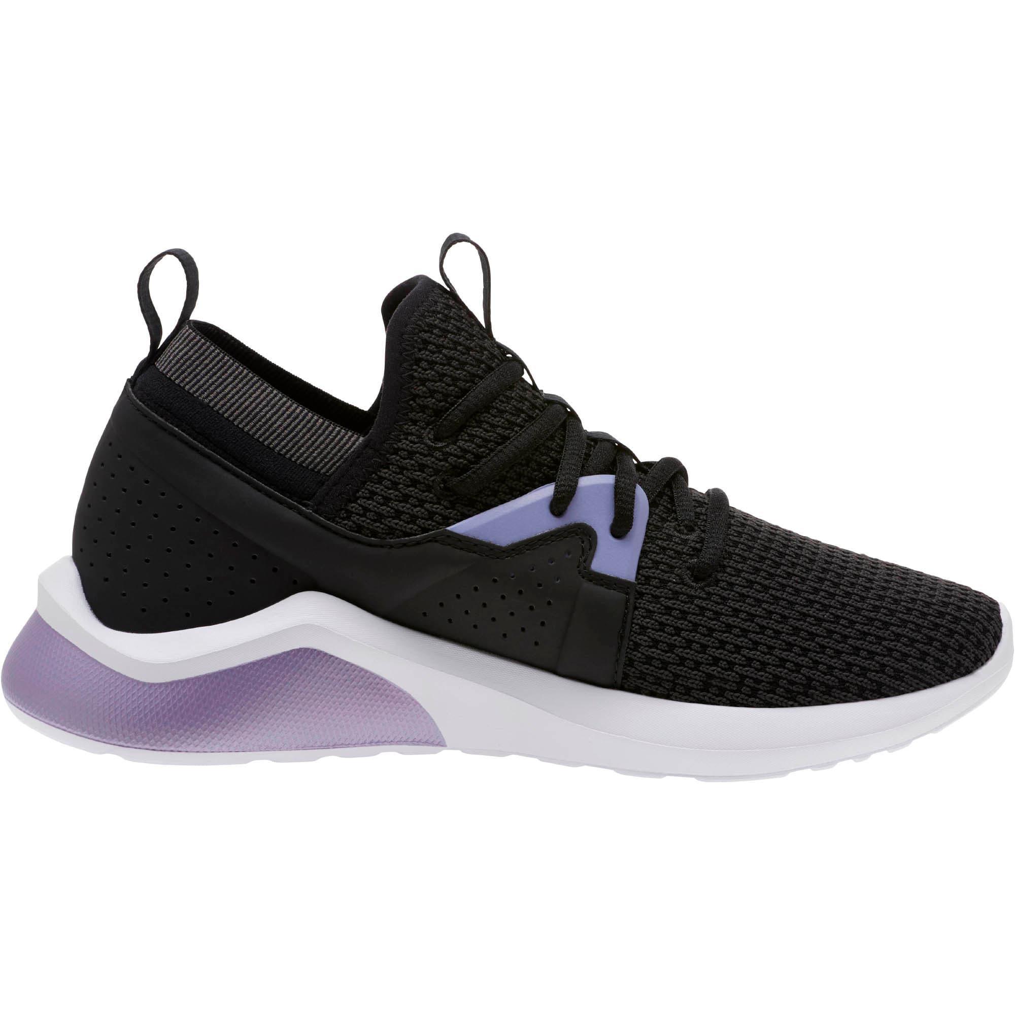 Thumbnail 3 of Emergence Cosmic Women's Sneakers, Puma Black-Sweet Lavender, medium