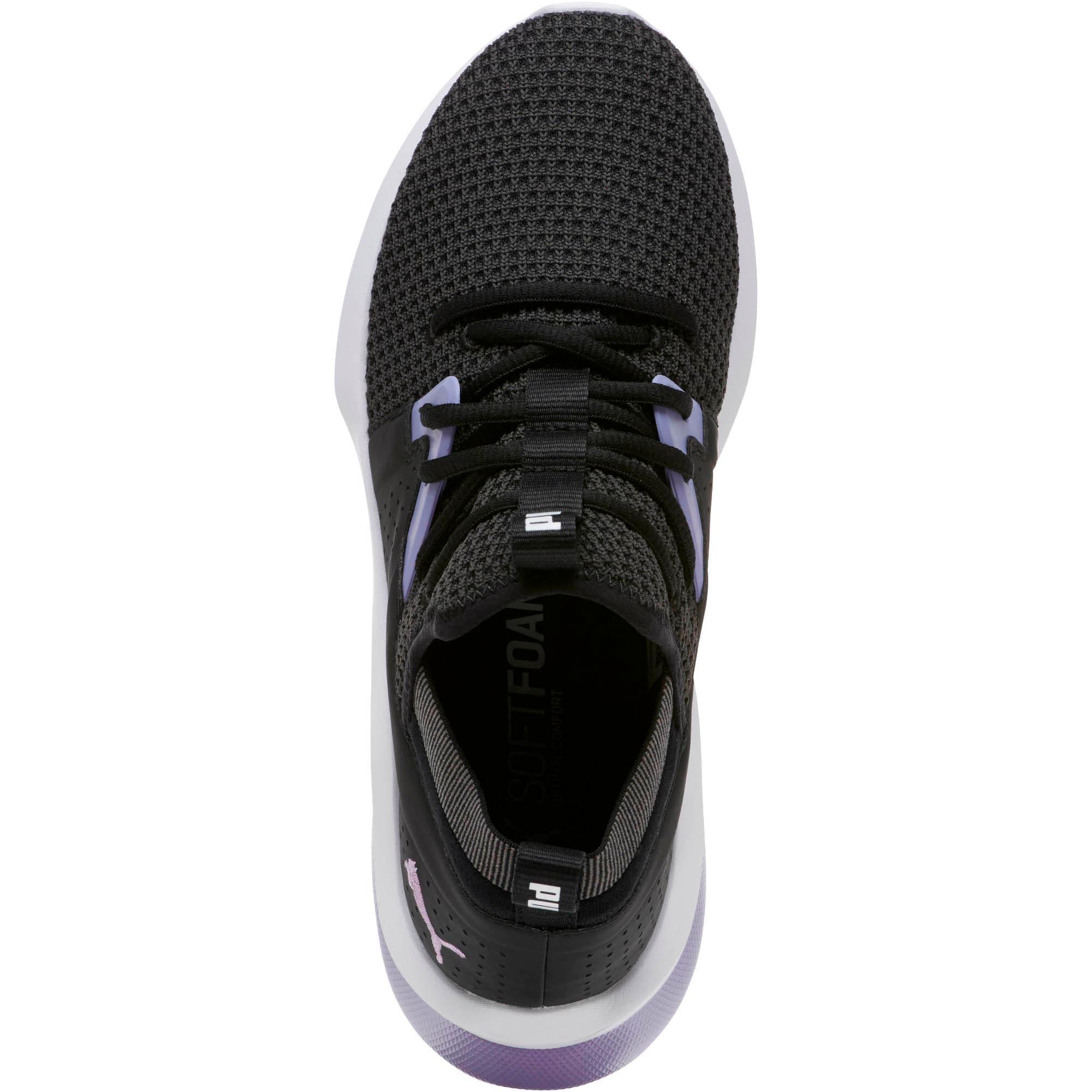 Thumbnail 5 of Emergence Cosmic Women's Sneakers, Puma Black-Sweet Lavender, medium