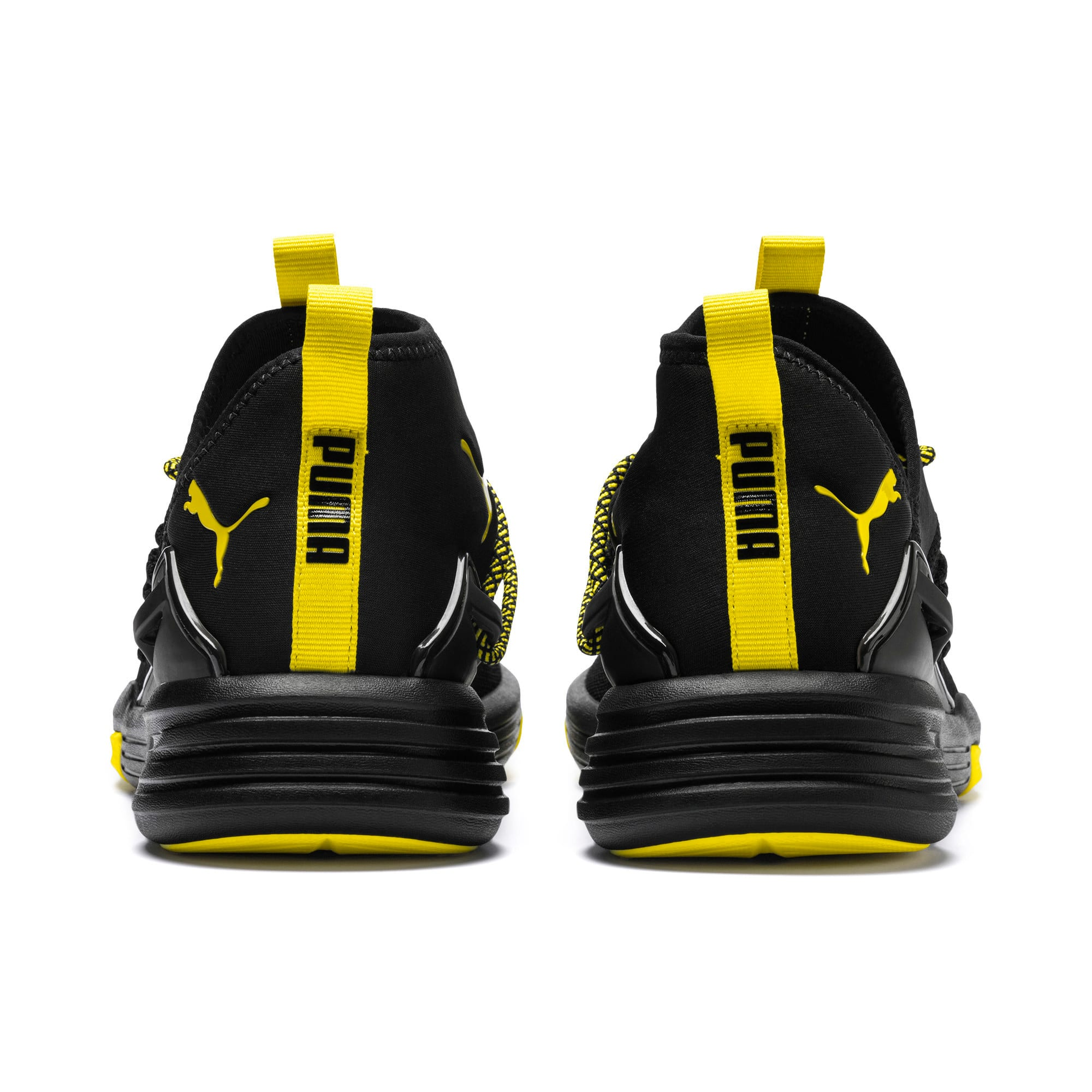 Thumbnail 3 of Mantra Caution Herren Trainingsschuhe, Puma Black-Blazing Yellow, medium